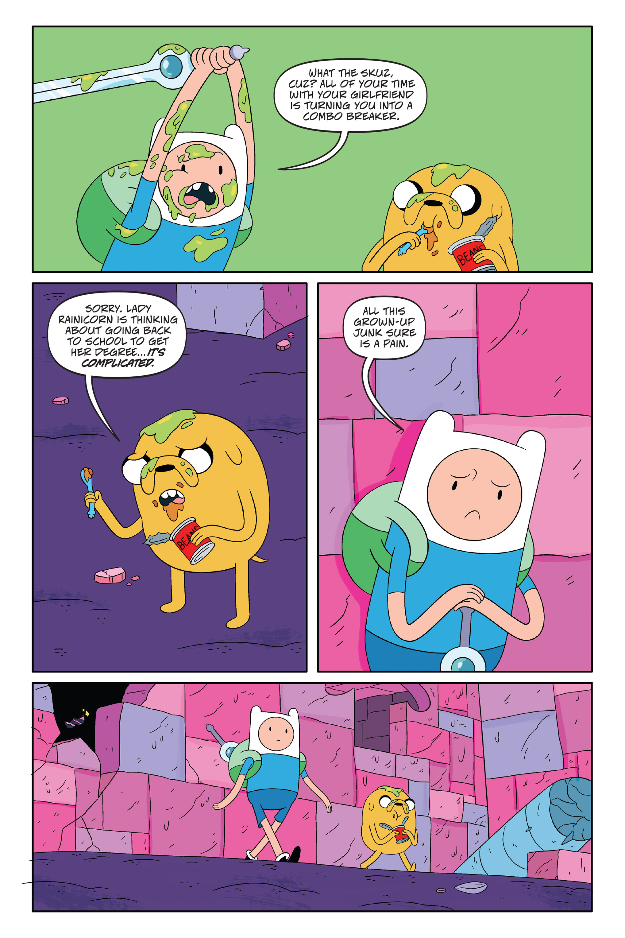 Read online Adventure Time: The Four Castles comic -  Issue #Adventure Time: The Four Castles TPB - 11