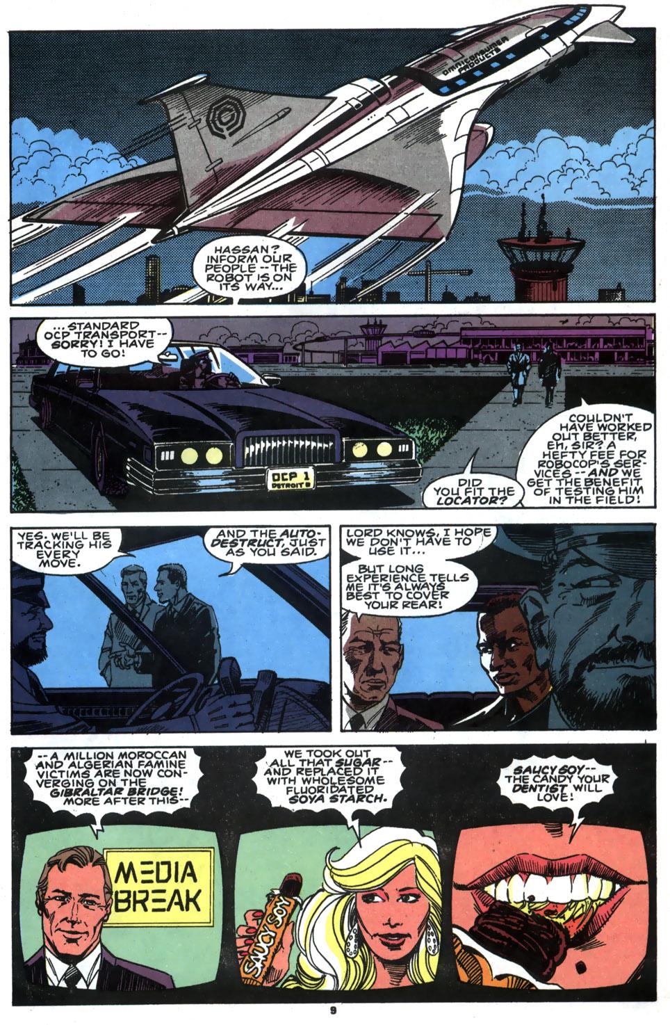 Read online Robocop (1990) comic -  Issue #5 - 8