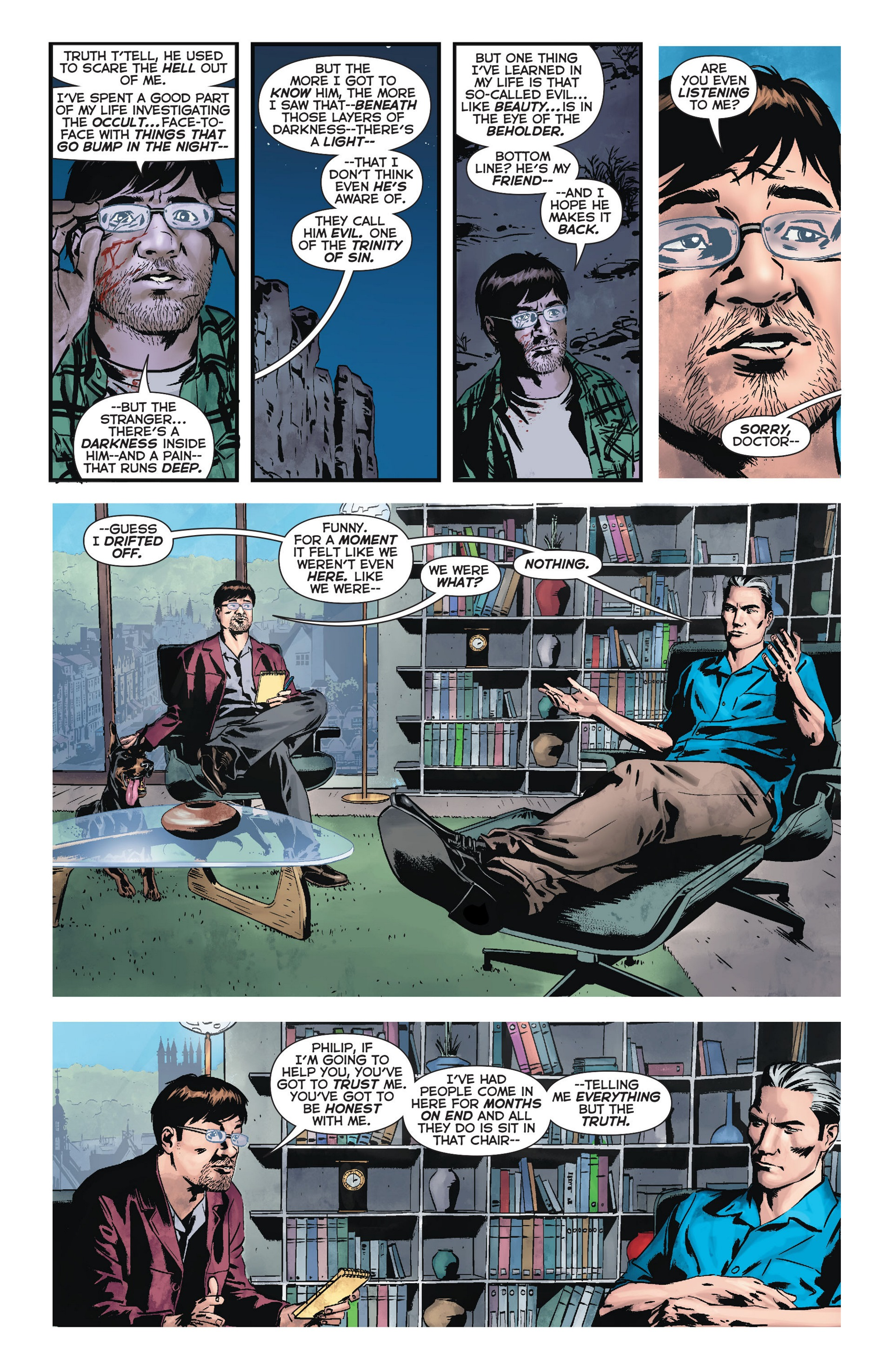 Read online Trinity of Sin: The Phantom Stranger comic -  Issue #22 - 11