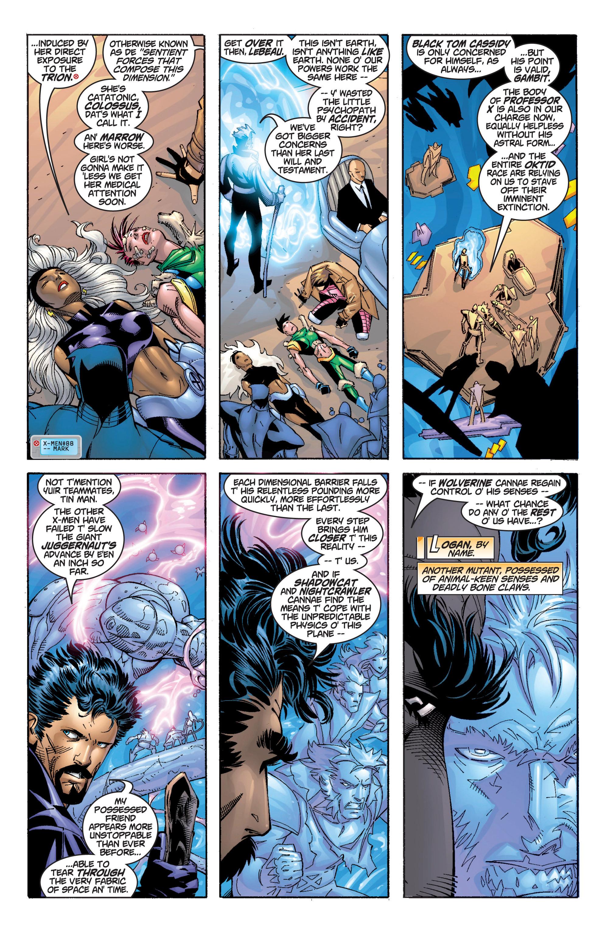 Read online Uncanny X-Men (1963) comic -  Issue #369 - 4