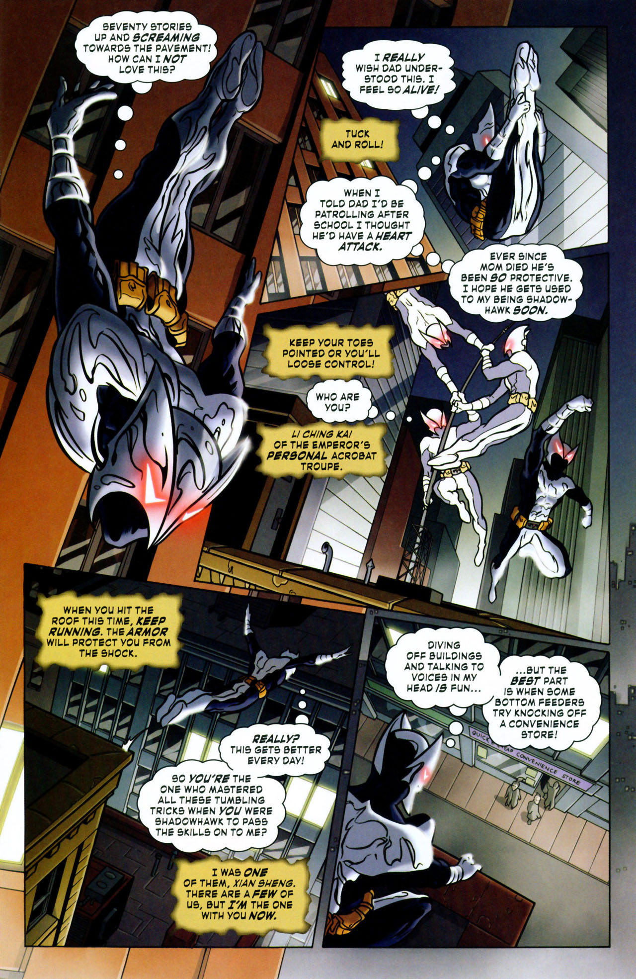 Read online ShadowHawk (2005) comic -  Issue #1 - 19