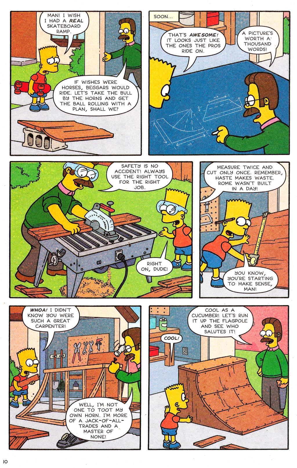 Read online Simpsons Comics comic -  Issue #124 - 9