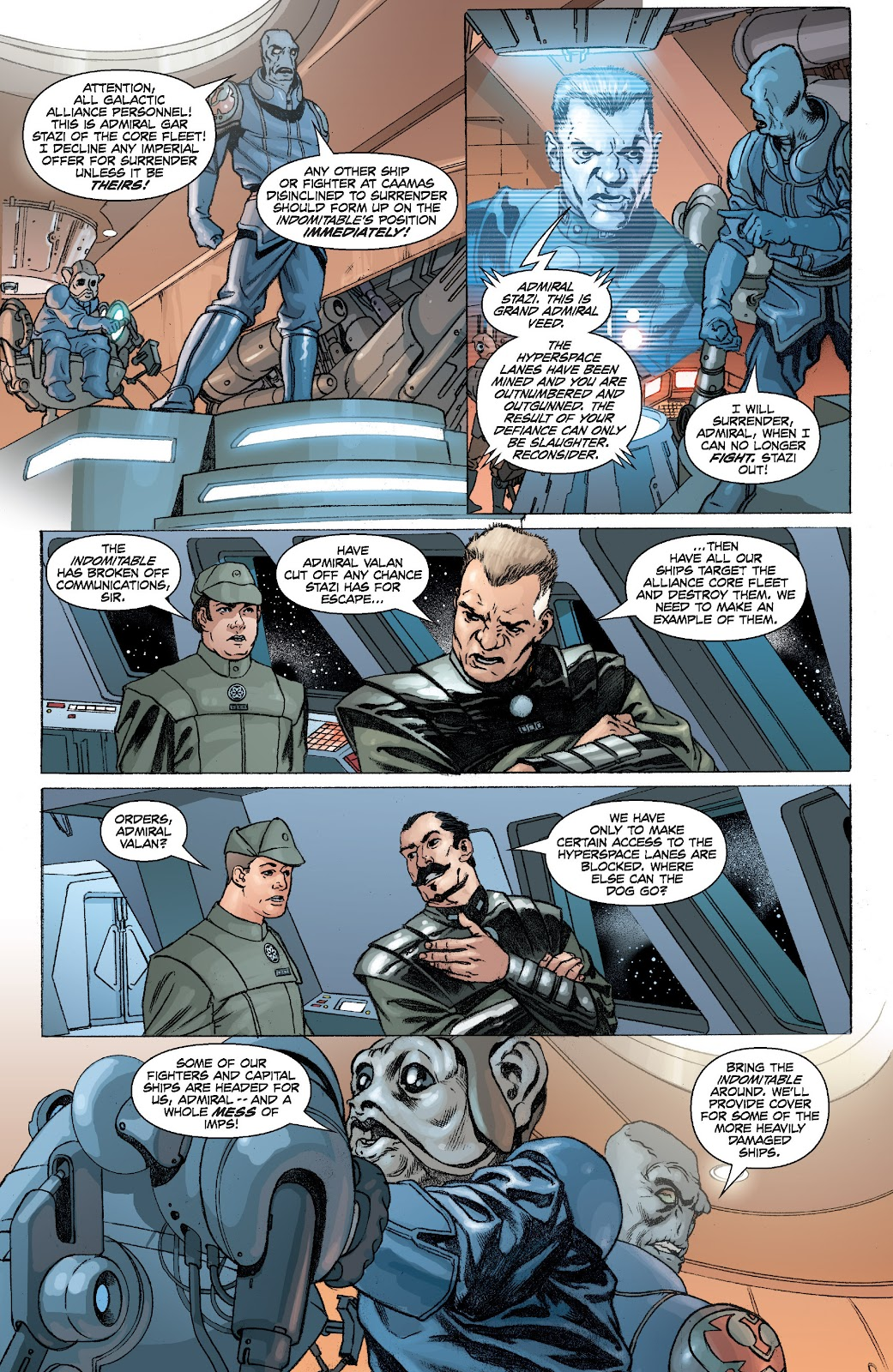 Read online Star Wars Legends: Legacy - Epic Collection comic -  Issue # TPB 2 (Part 1) - 32
