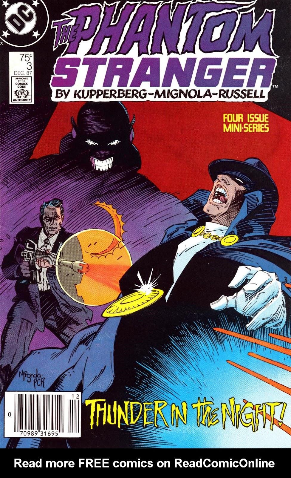 The Phantom Stranger (1987) 3 Page 1