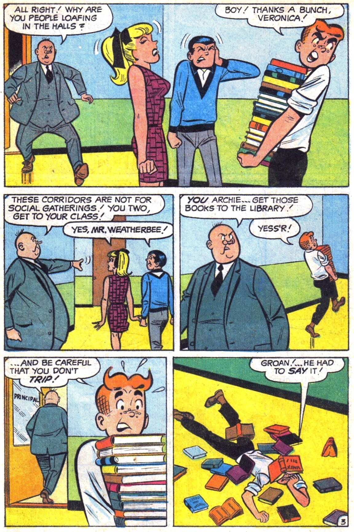 Read online Archie (1960) comic -  Issue #187 - 5