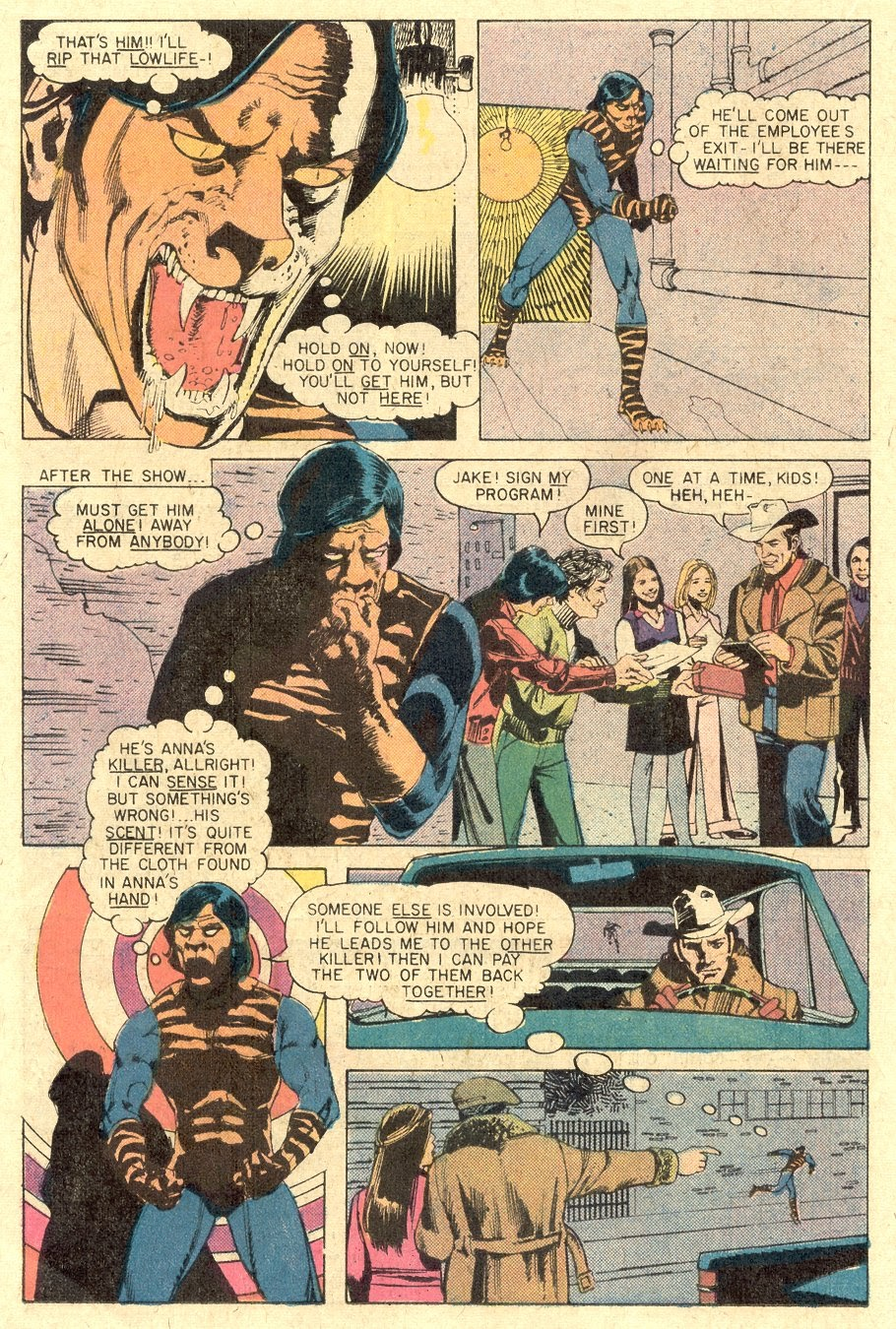 Read online Tiger-Man comic -  Issue #1 - 22