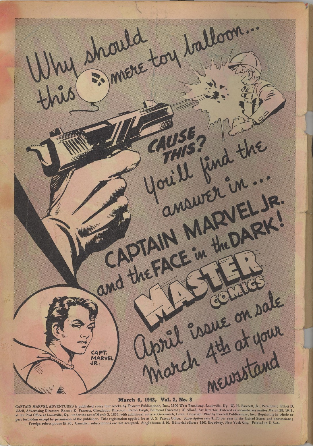 Captain Marvel Adventures issue 8 - Page 2