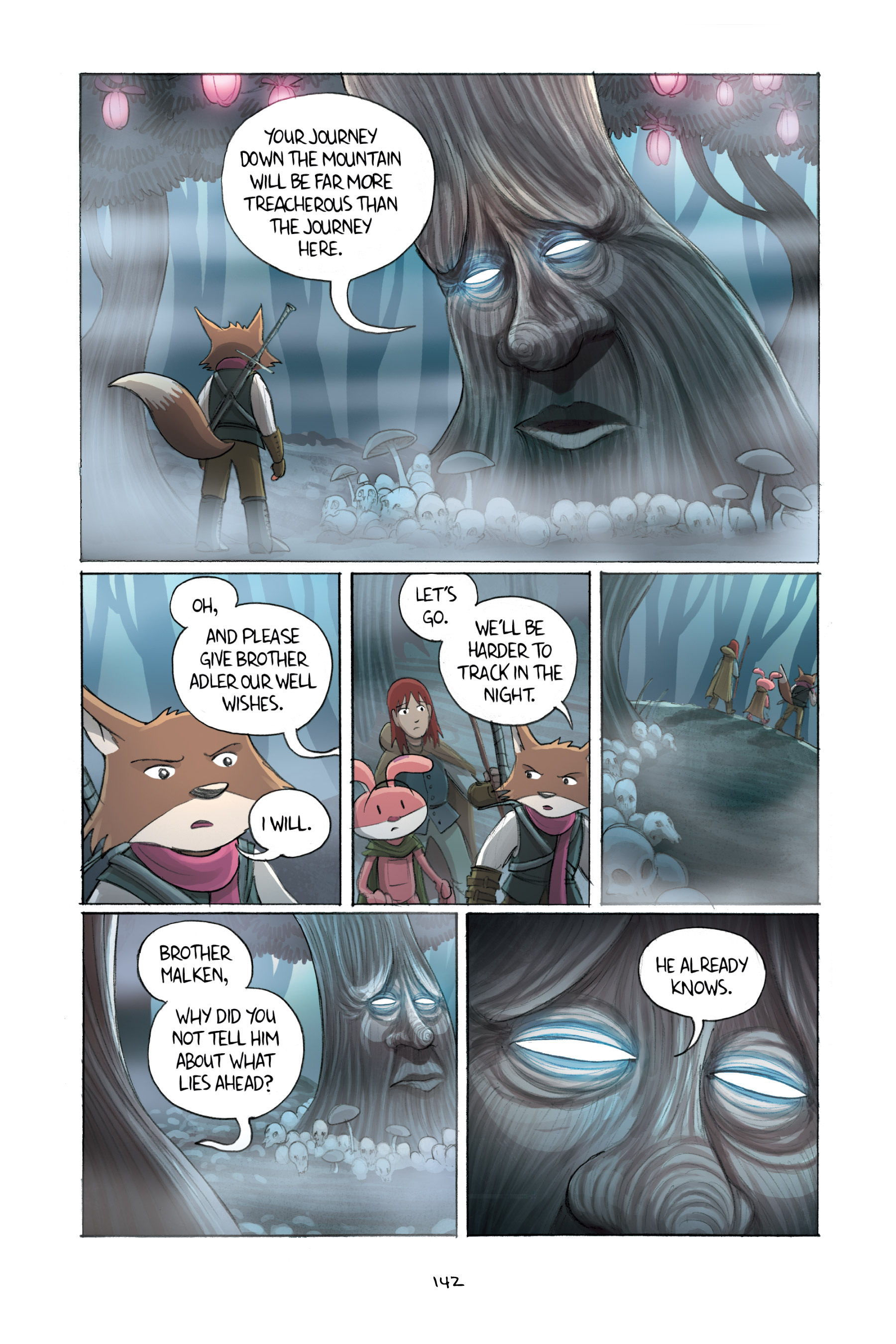 Read online Amulet comic -  Issue #2 - 141