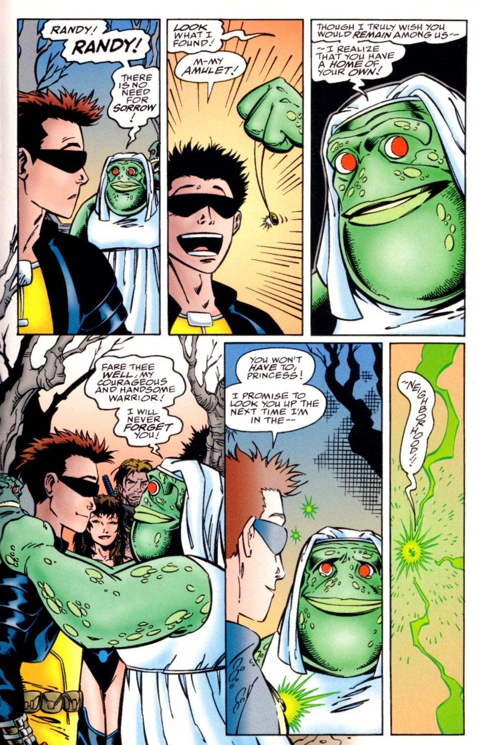 Read online Randy O'Donnell is The M@N comic -  Issue #3 - 23
