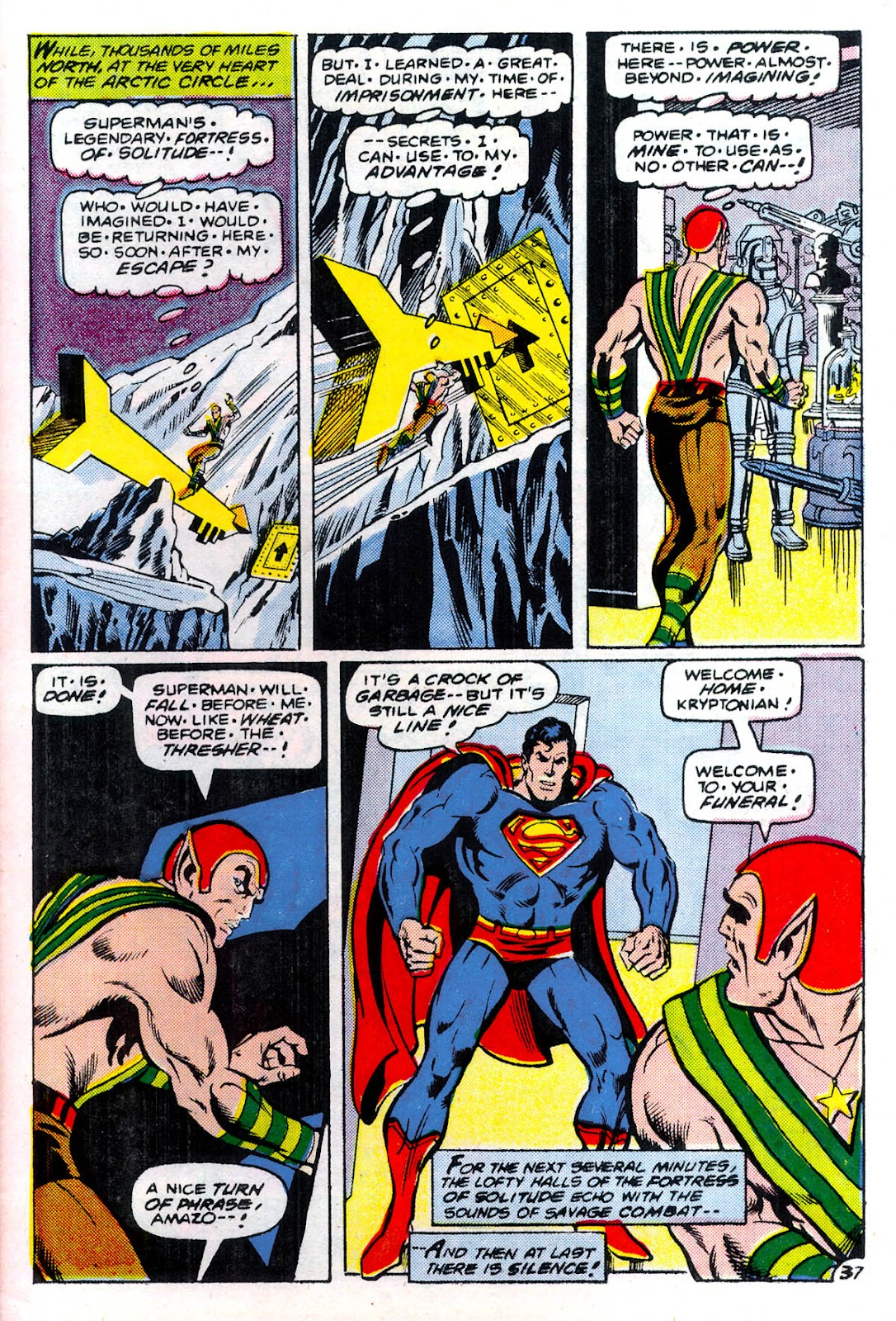 Read online Superman Special (1983) comic -  Issue #3 - 38