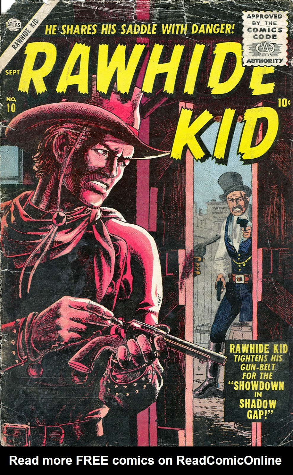 The Rawhide Kid (1955) issue 10 - Page 1