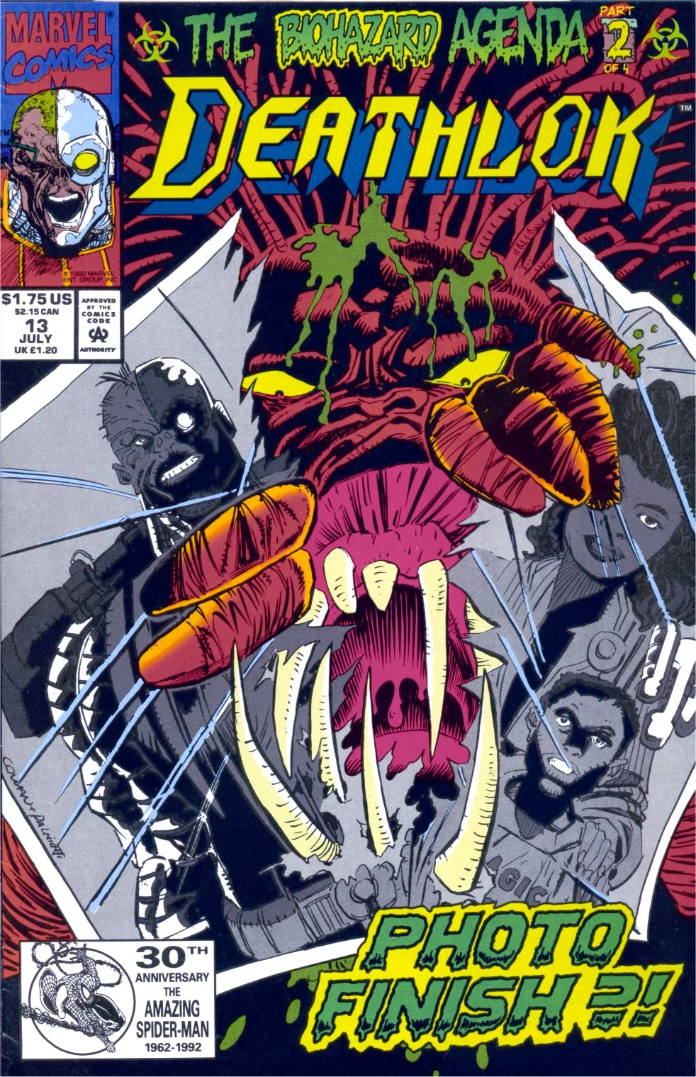 Deathlok (1991) 13 Page 1