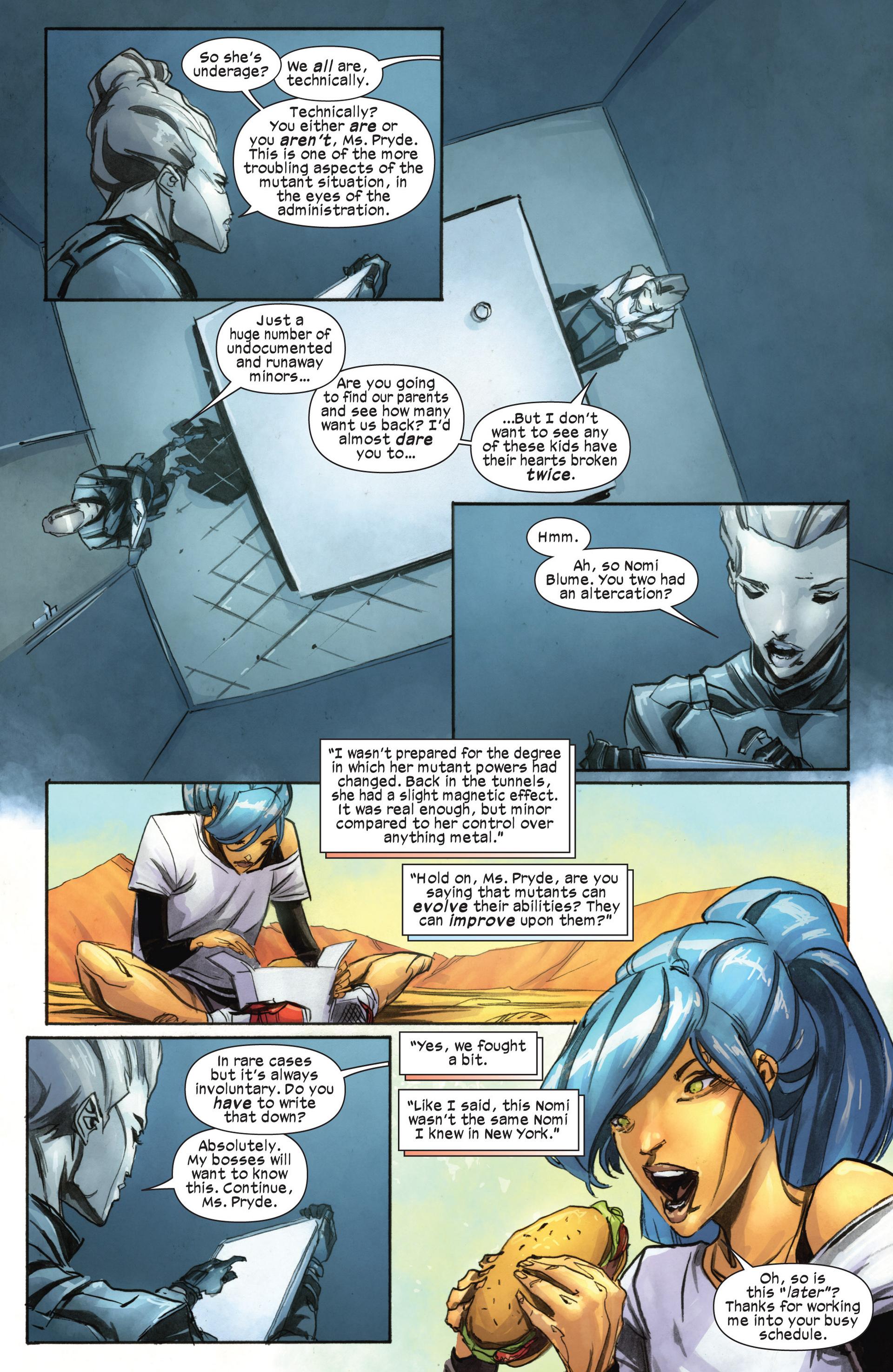 Read online Ultimate Comics X-Men comic -  Issue #18.1 - 14