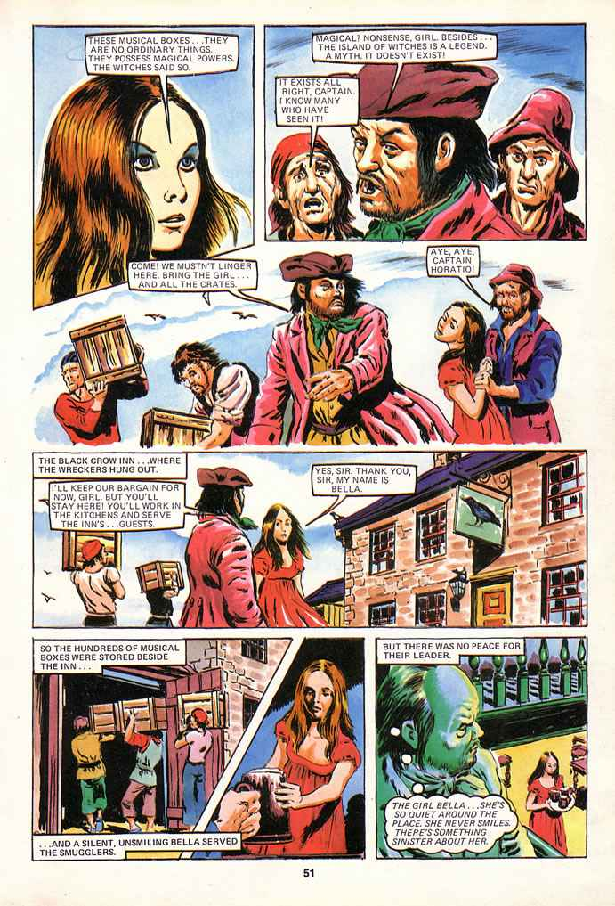 Read online Misty comic -  Issue # _Annual 1980 - 51