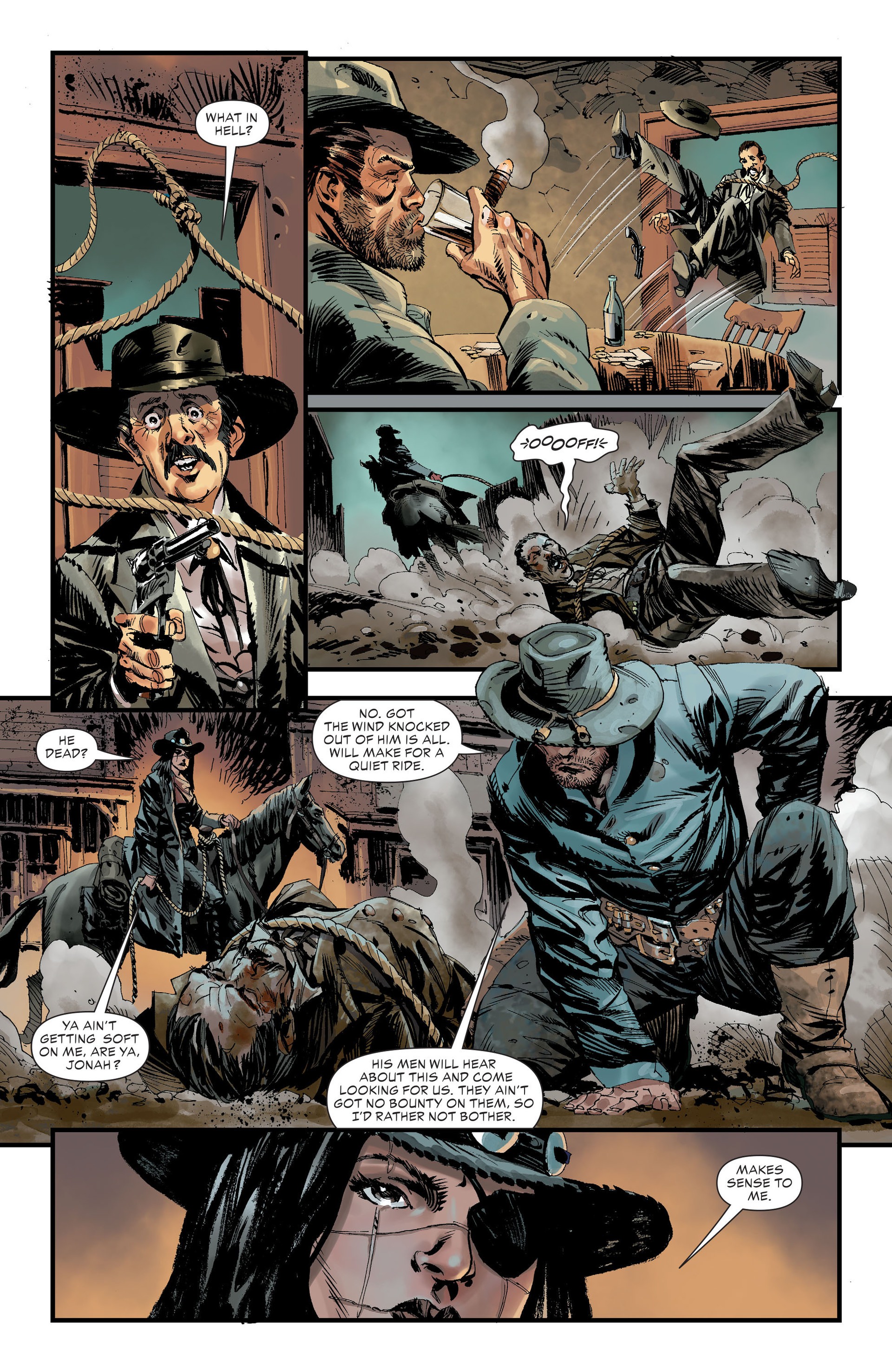 Read online All-Star Western (2011) comic -  Issue #32 - 3