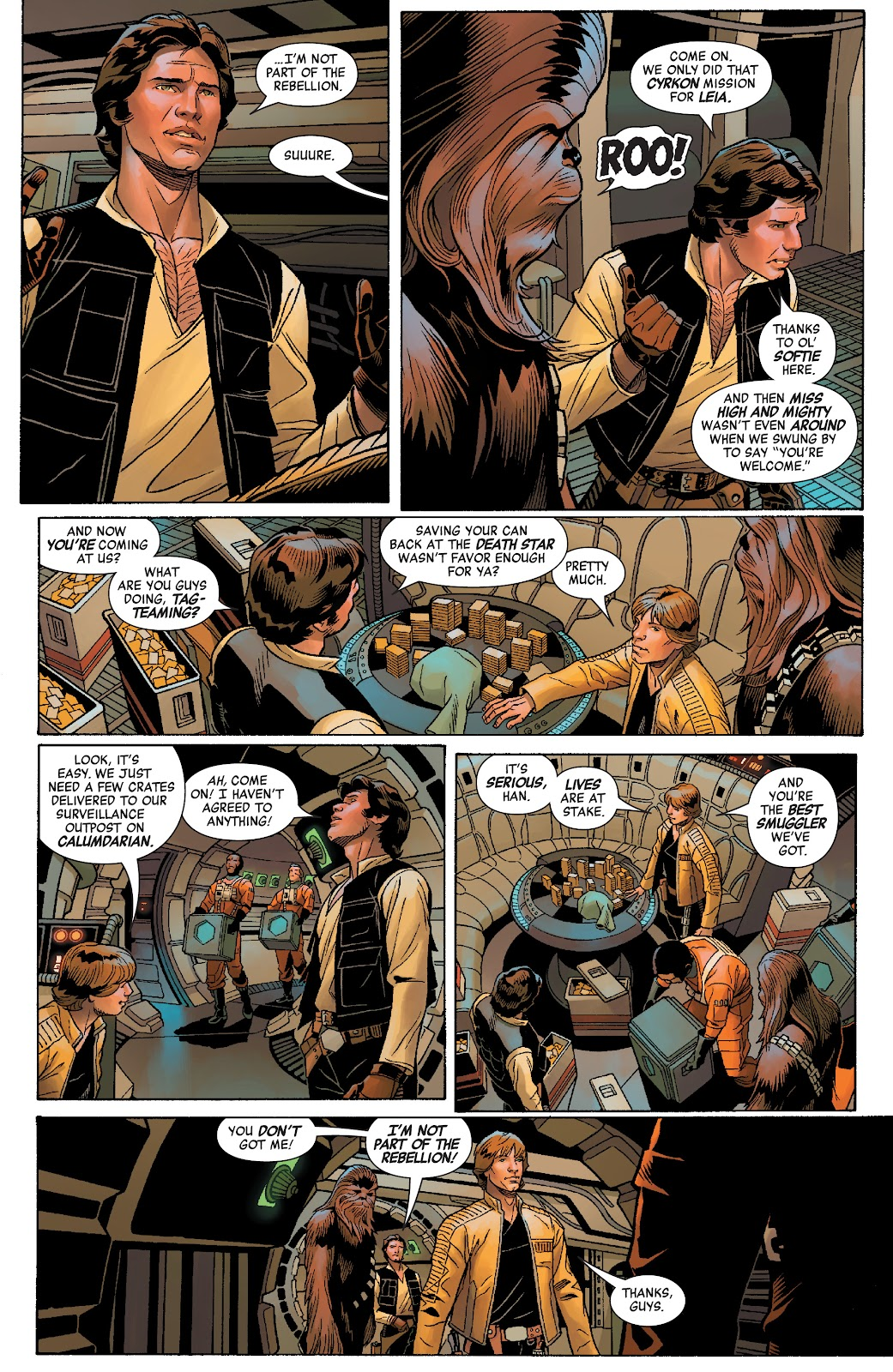 Read online Star Wars: Age of Rebellion - Heroes comic -  Issue # TPB - 32