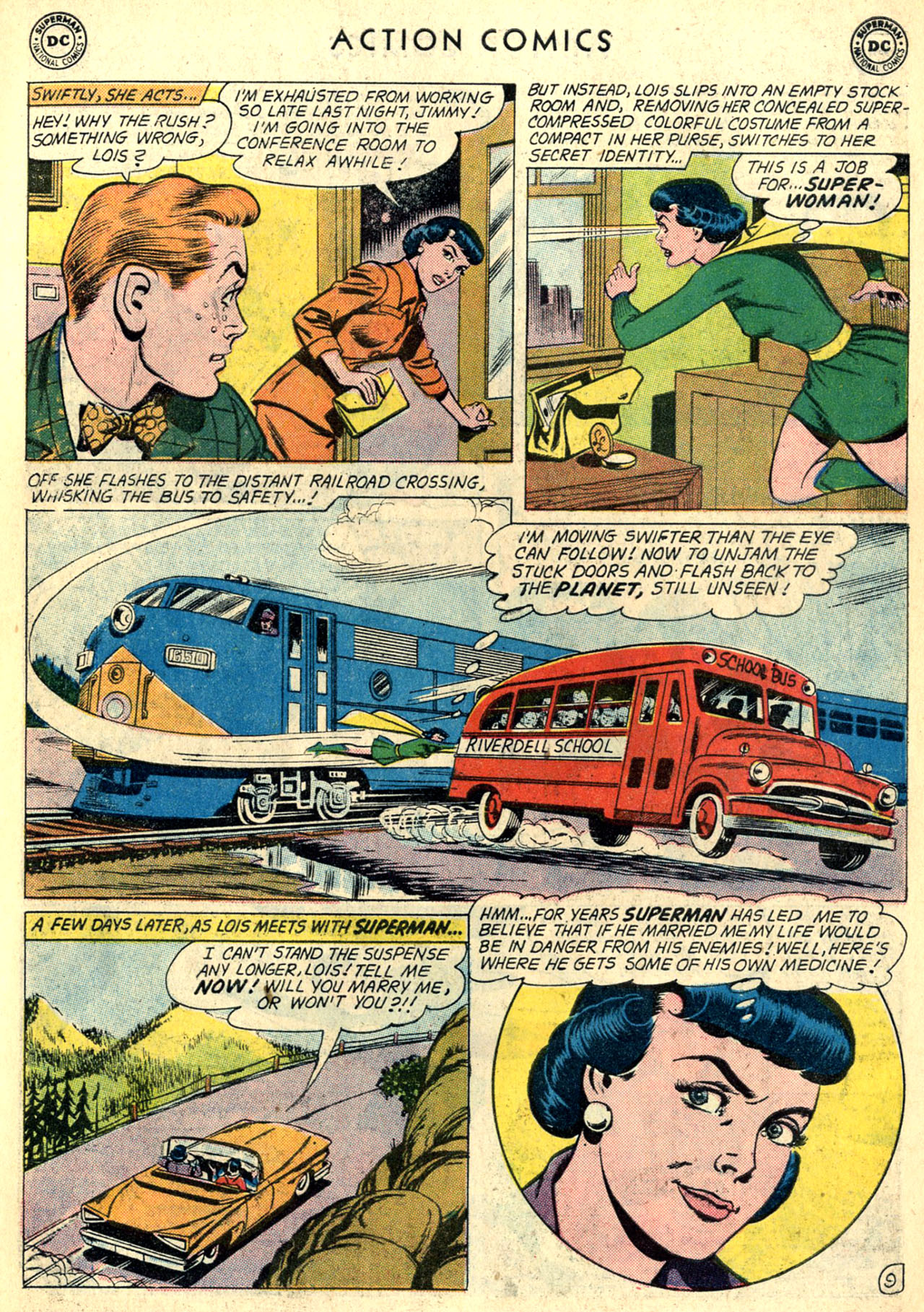 Read online Action Comics (1938) comic -  Issue #274 - 11