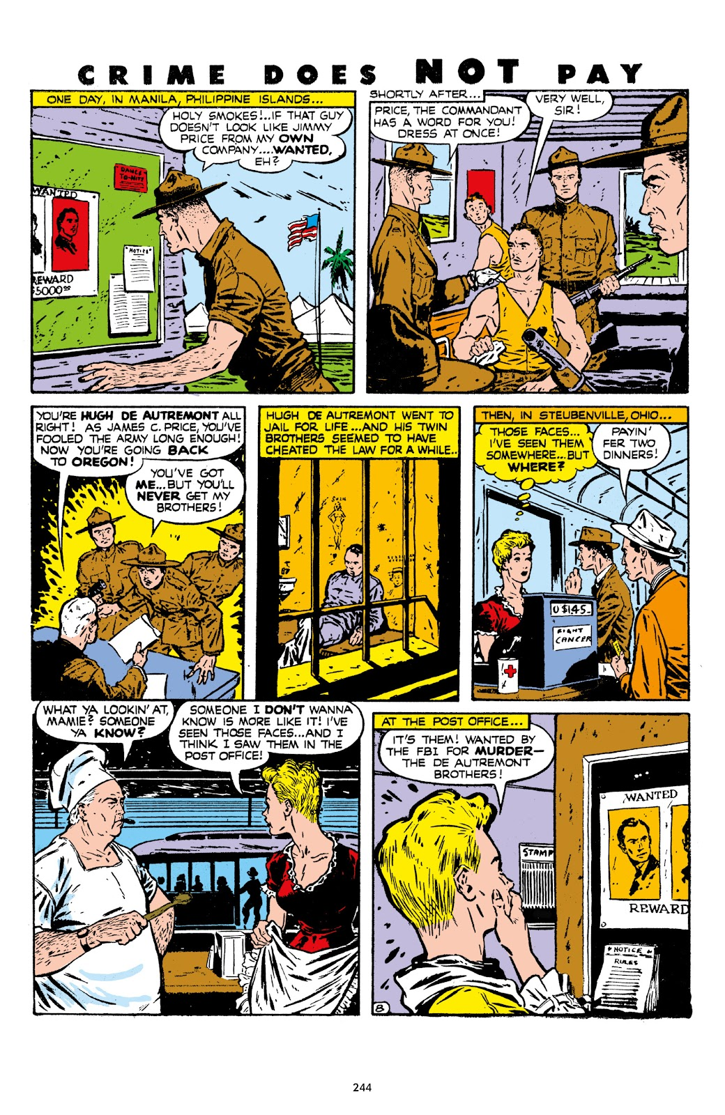 Read online Crime Does Not Pay Archives comic -  Issue # TPB 7 (Part 3) - 45