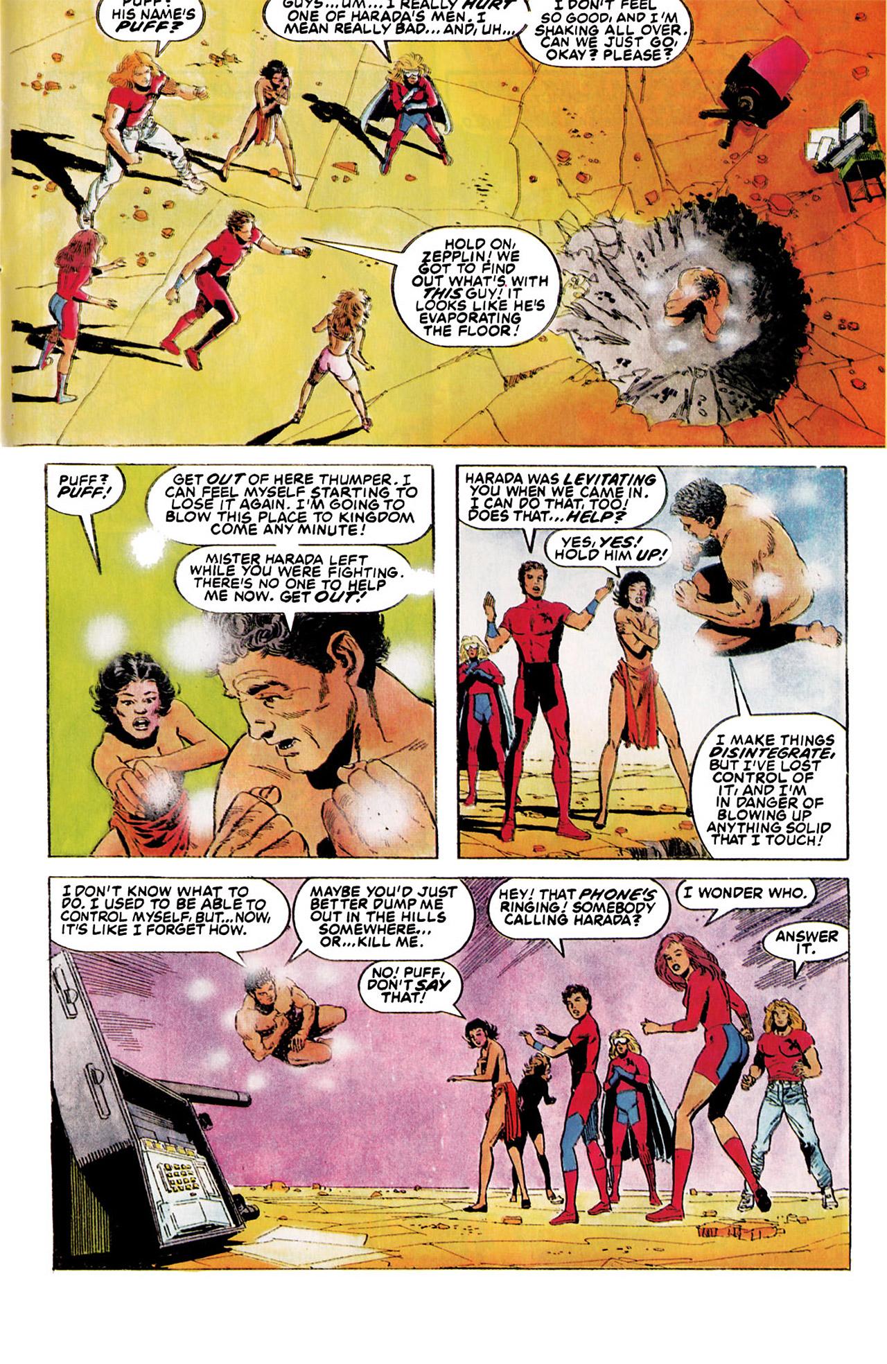Read online Harbinger (1992) comic -  Issue #5 - 19