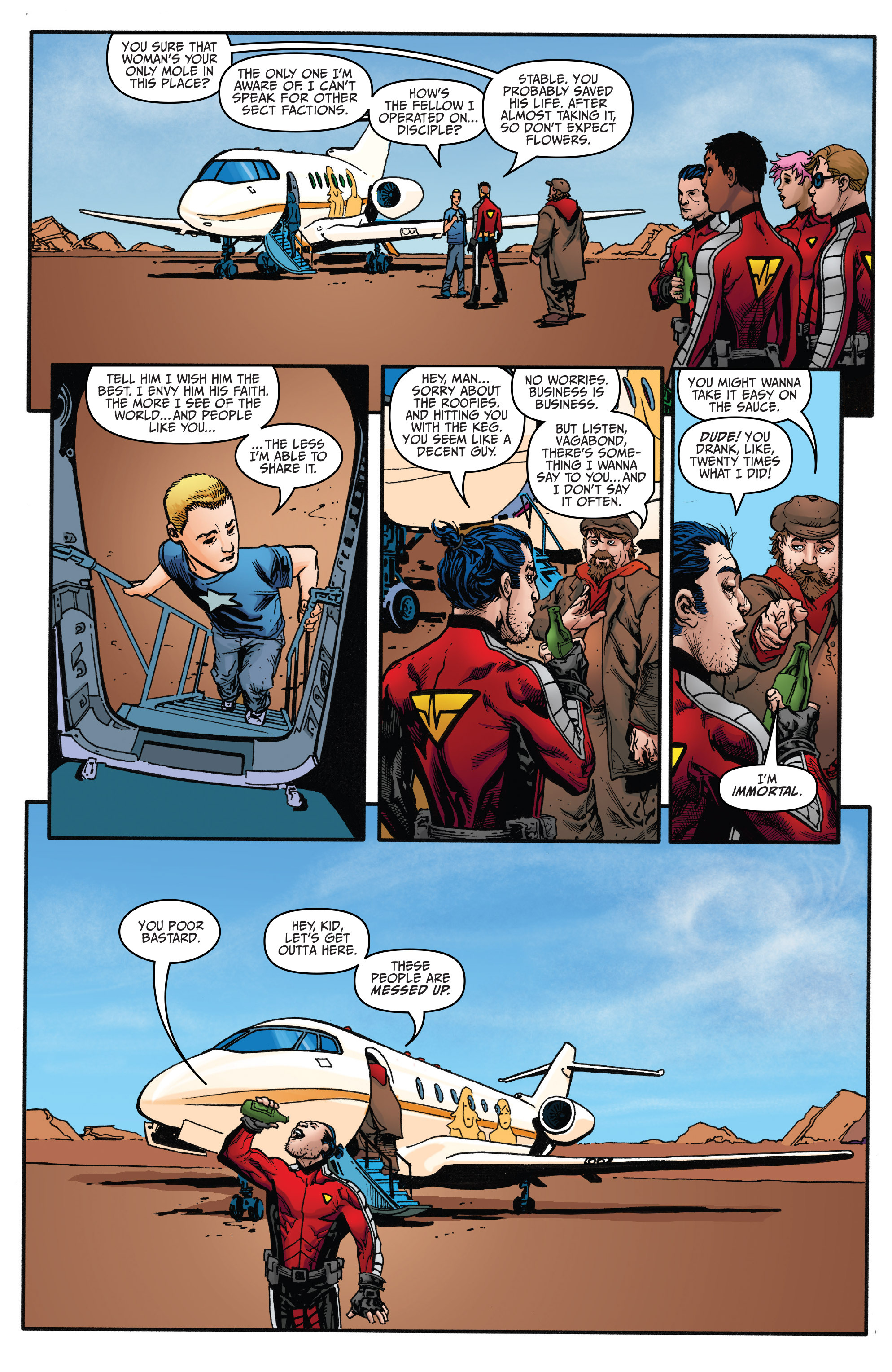Read online Archer and Armstrong comic -  Issue #Archer and Armstrong _TPB 5 - 118