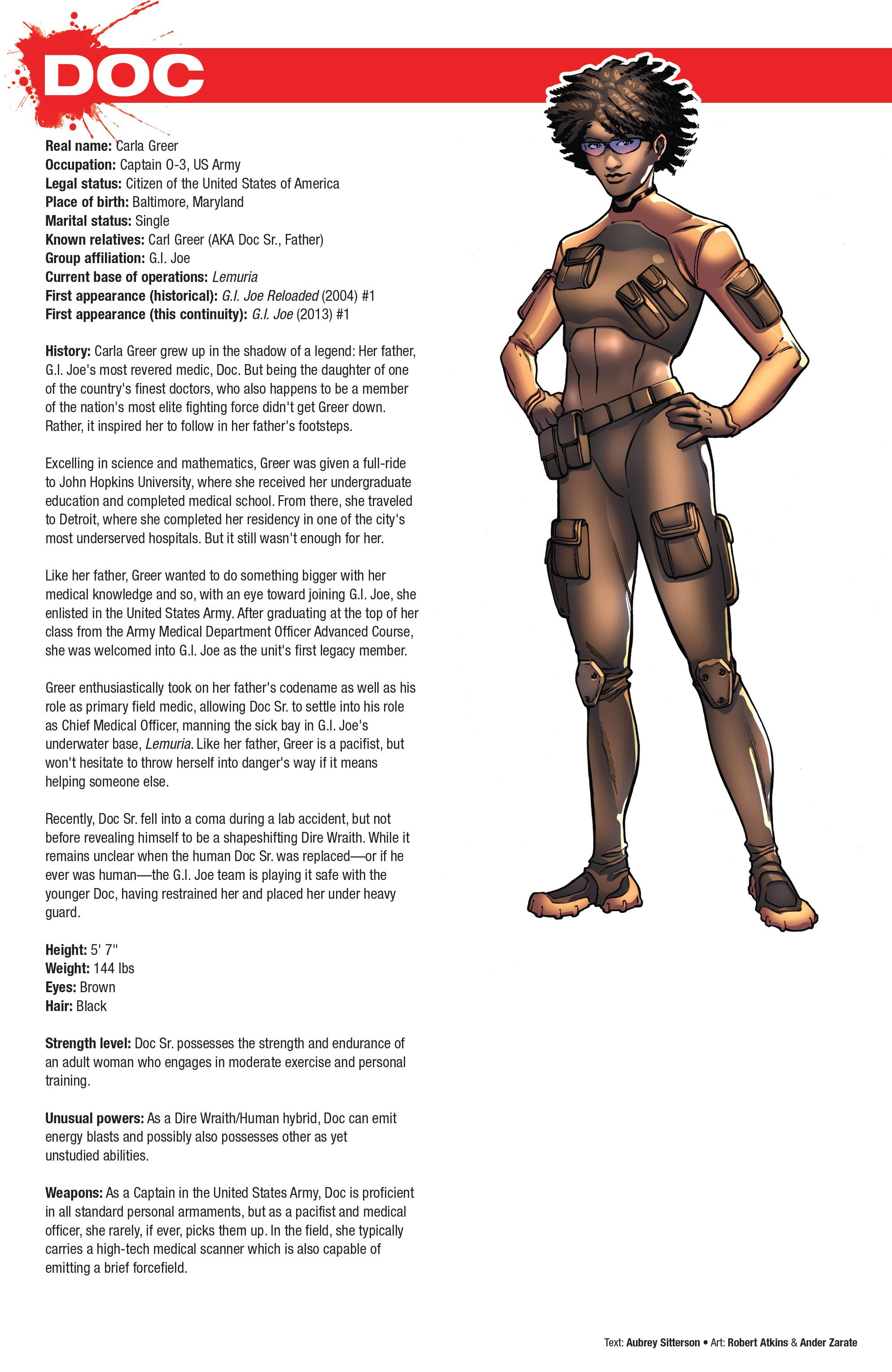 Read online Hasbro Heroes Sourcebook comic -  Issue #1 - 33