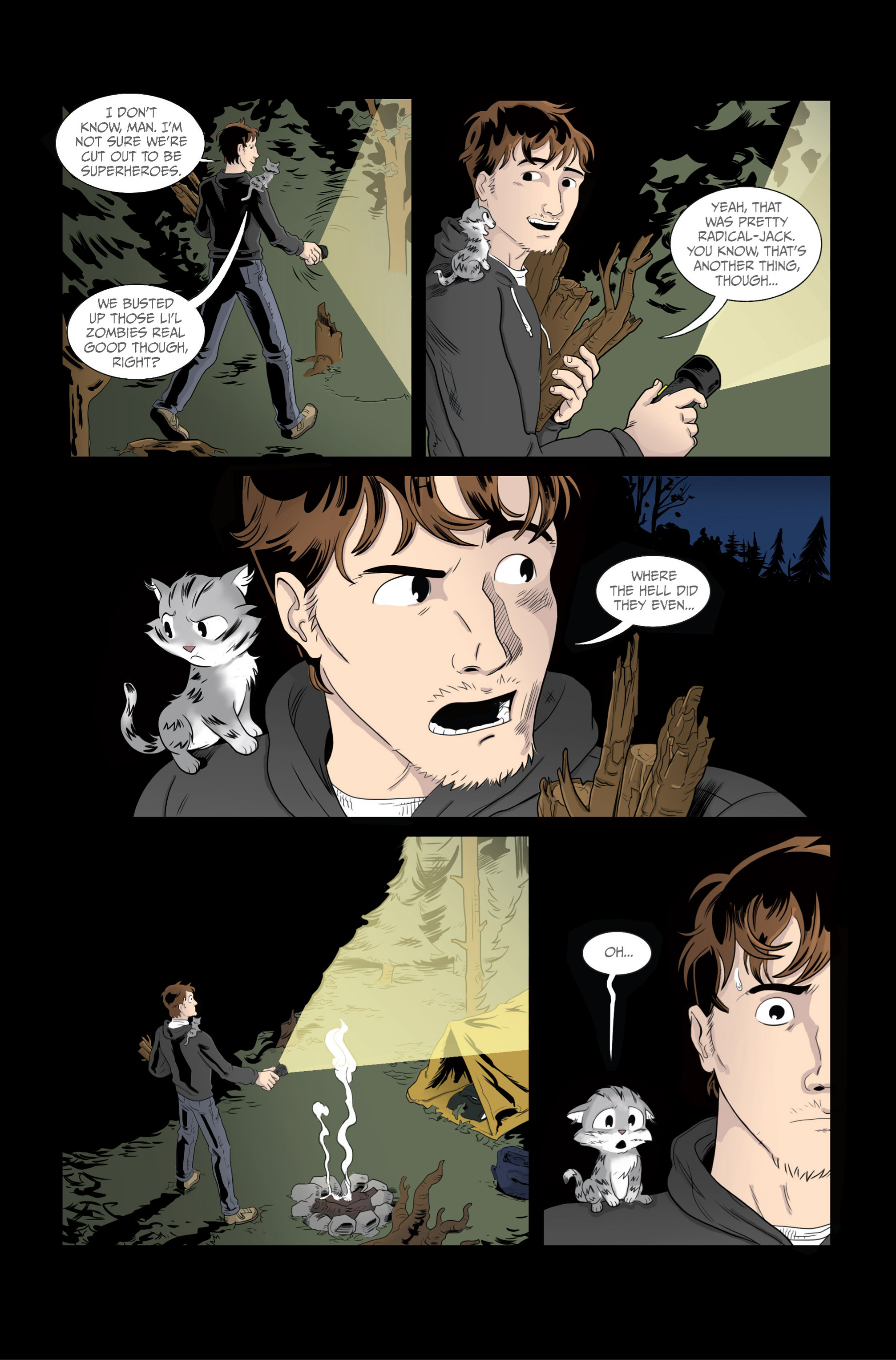 Read online Ehmm Theory: Everything & Small Doses comic -  Issue #2 - 25