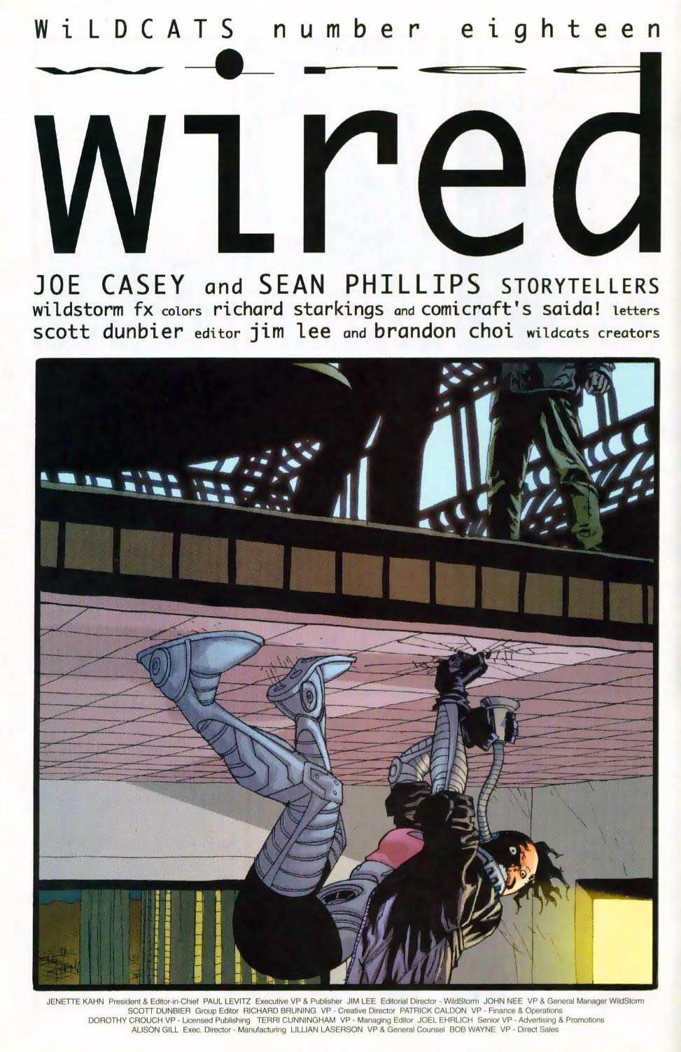 Wildcats (1999) Issue #18 #19 - English 5
