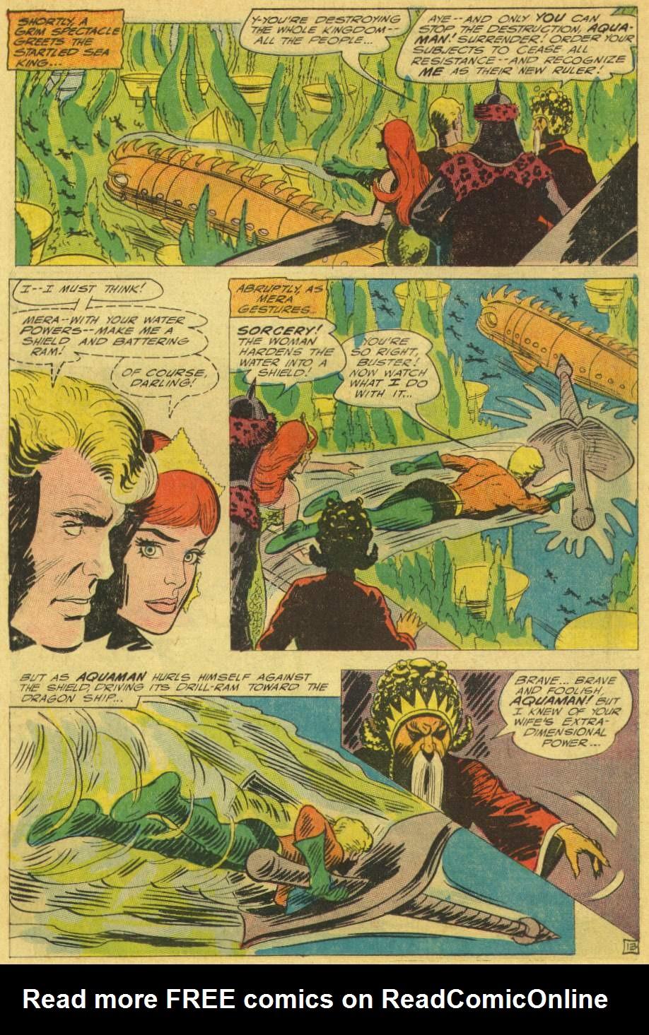 Read online Aquaman (1962) comic -  Issue #25 - 18