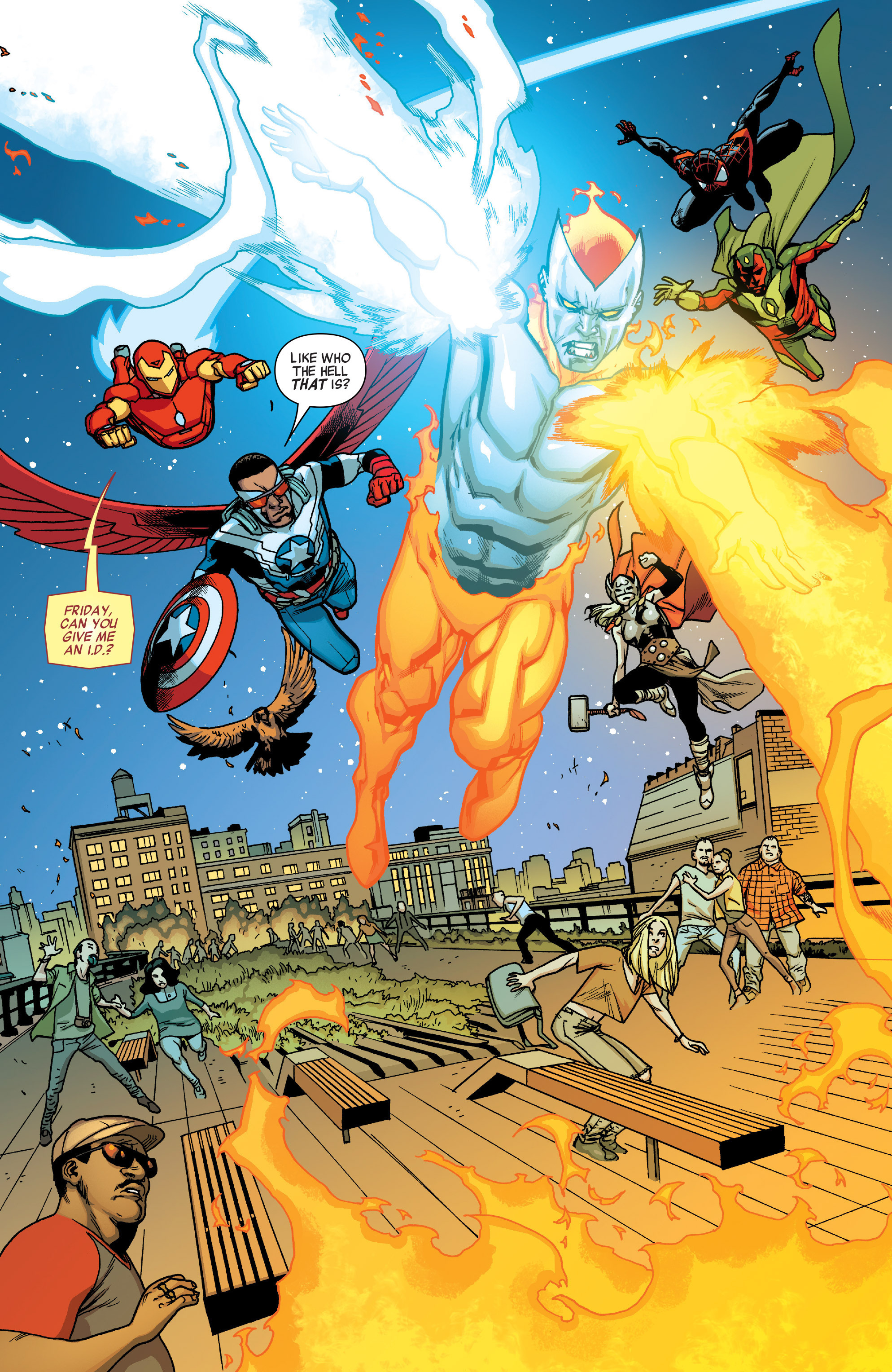 Read online All-New, All-Different Avengers comic -  Issue #5 - 16