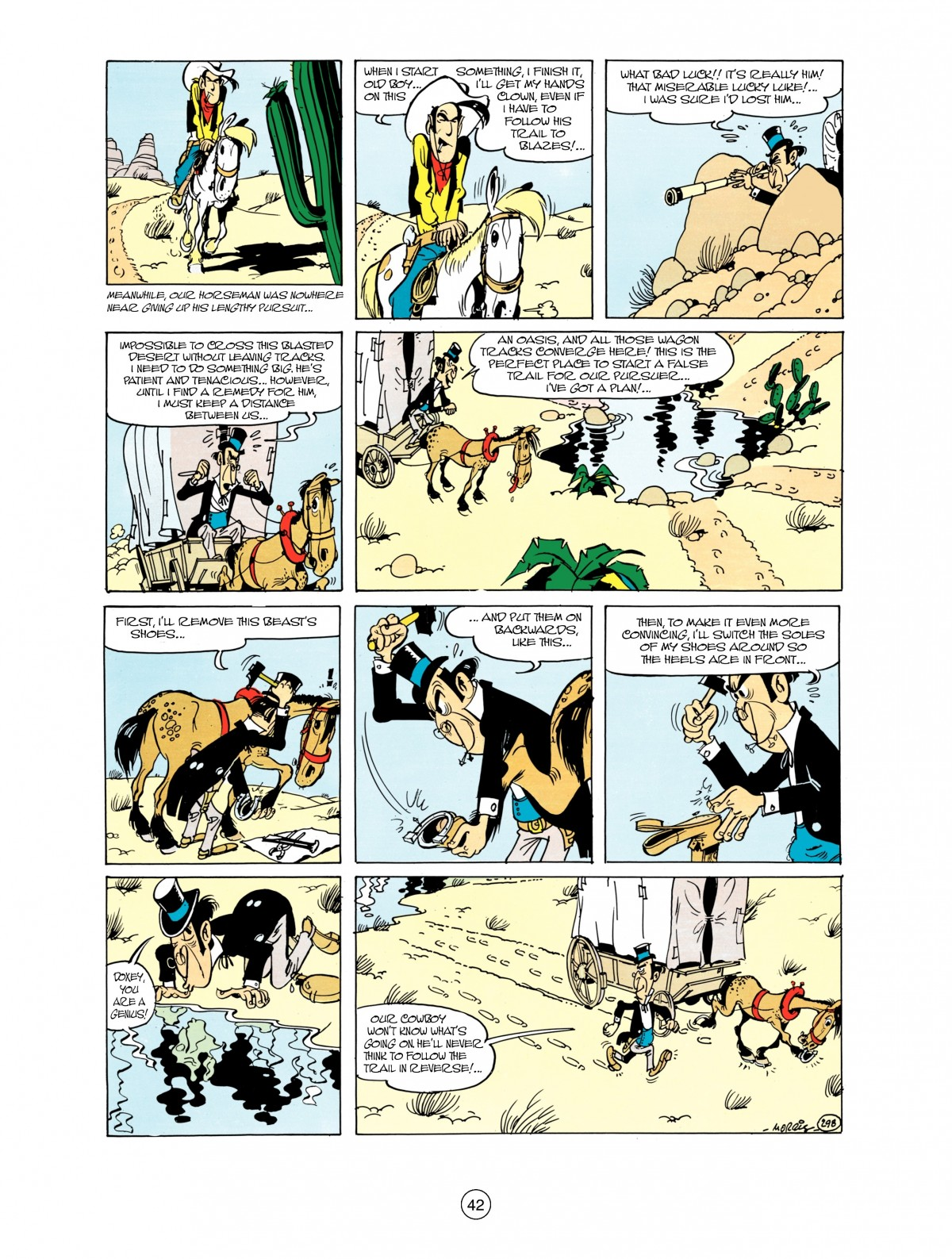 Read online A Lucky Luke Adventure comic -  Issue #38 - 42