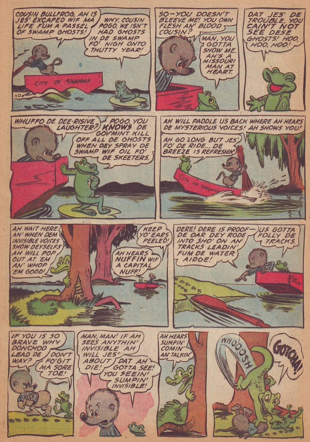 Read online Animal Comics comic -  Issue #16 - 20