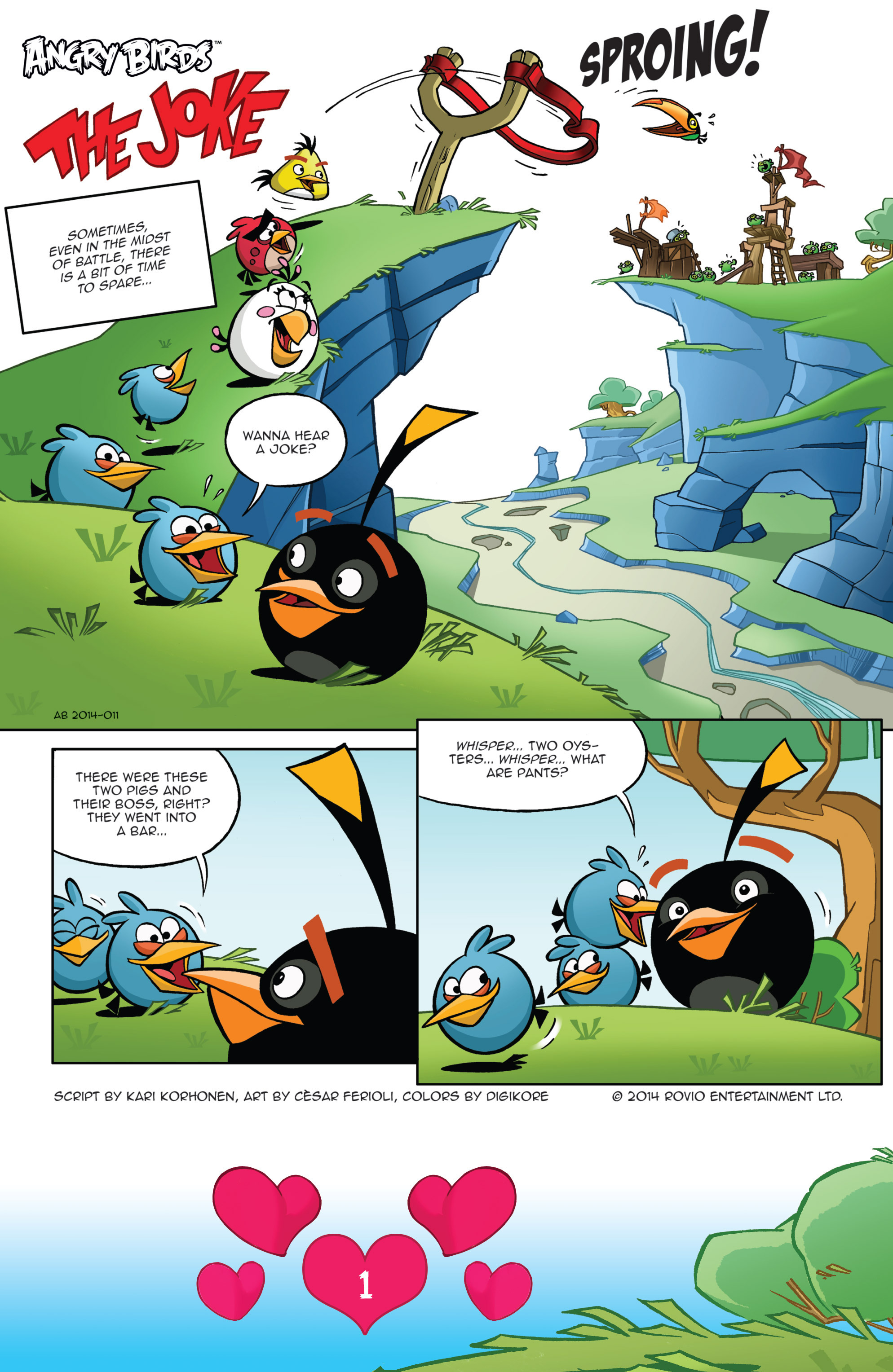 Read online Angry Birds Comics (2016) comic -  Issue #2 - 3