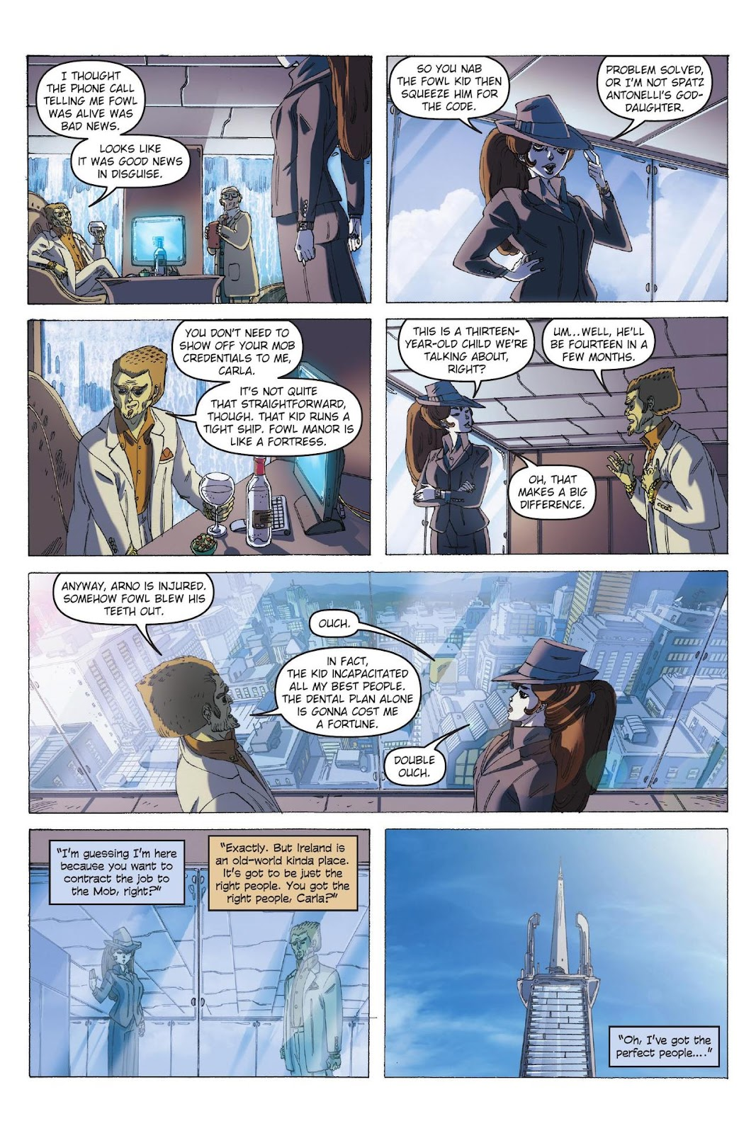 Artemis Fowl: The Eternity Code issue TPB - Page 52