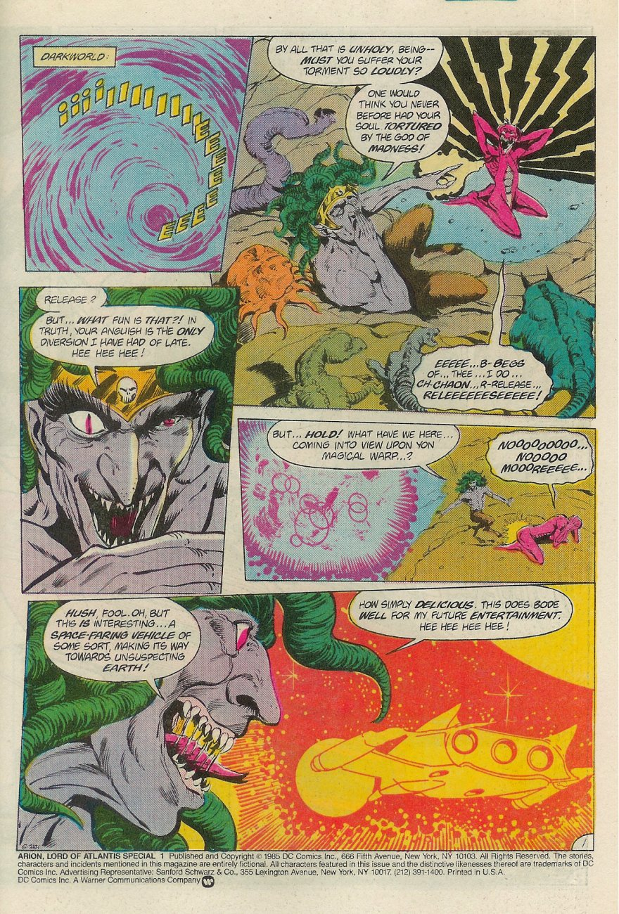 Read online Arion, Lord of Atlantis comic -  Issue #Arion, Lord of Atlantis _Special 1 - 2