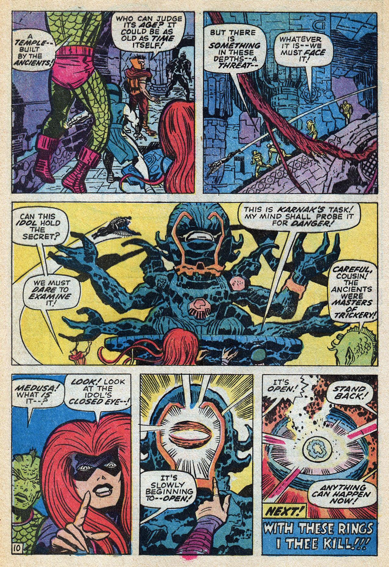 Read online Amazing Adventures (1970) comic -  Issue #3 - 16