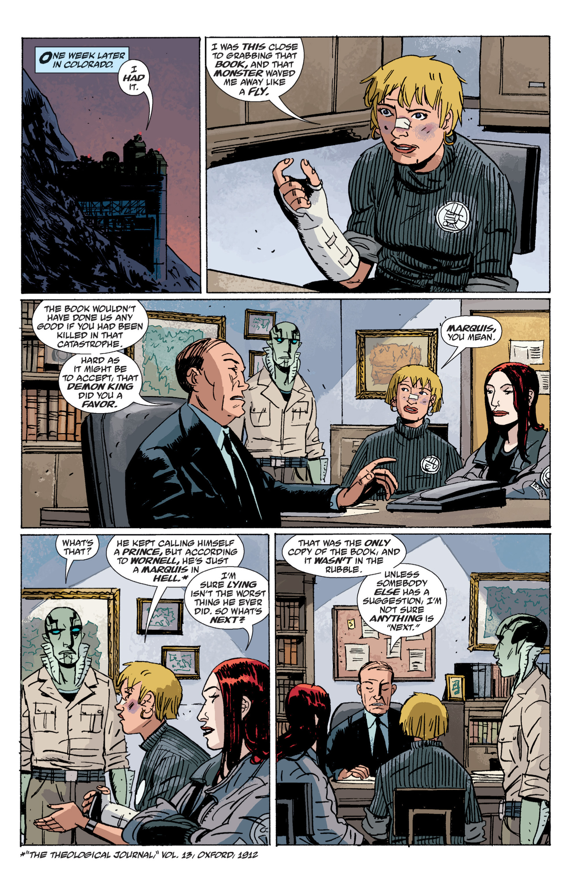 Read online B.P.R.D. (2003) comic -  Issue # TPB 6 - 130