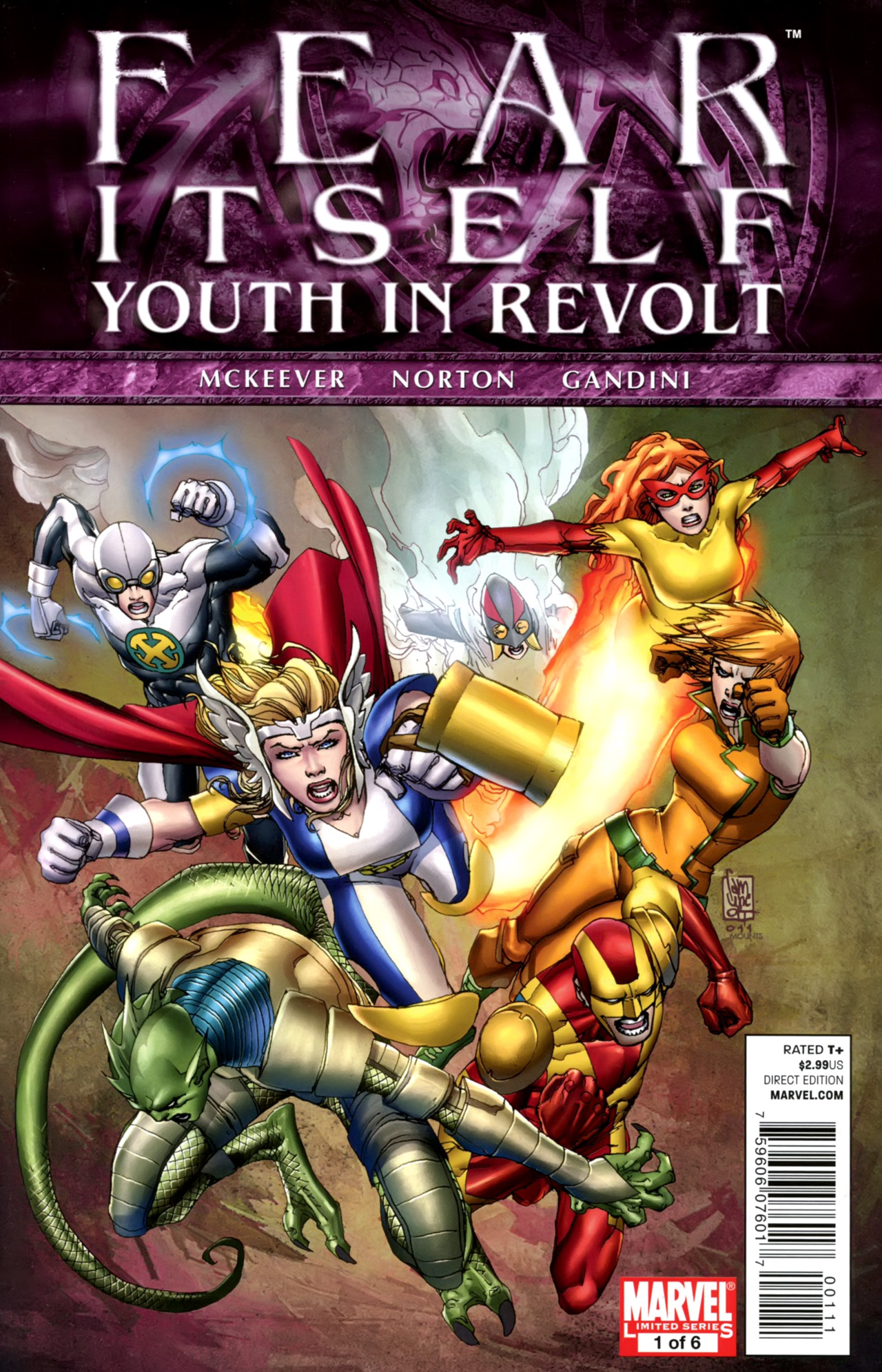 Fear Itself: Youth In Revolt 1 Page 1