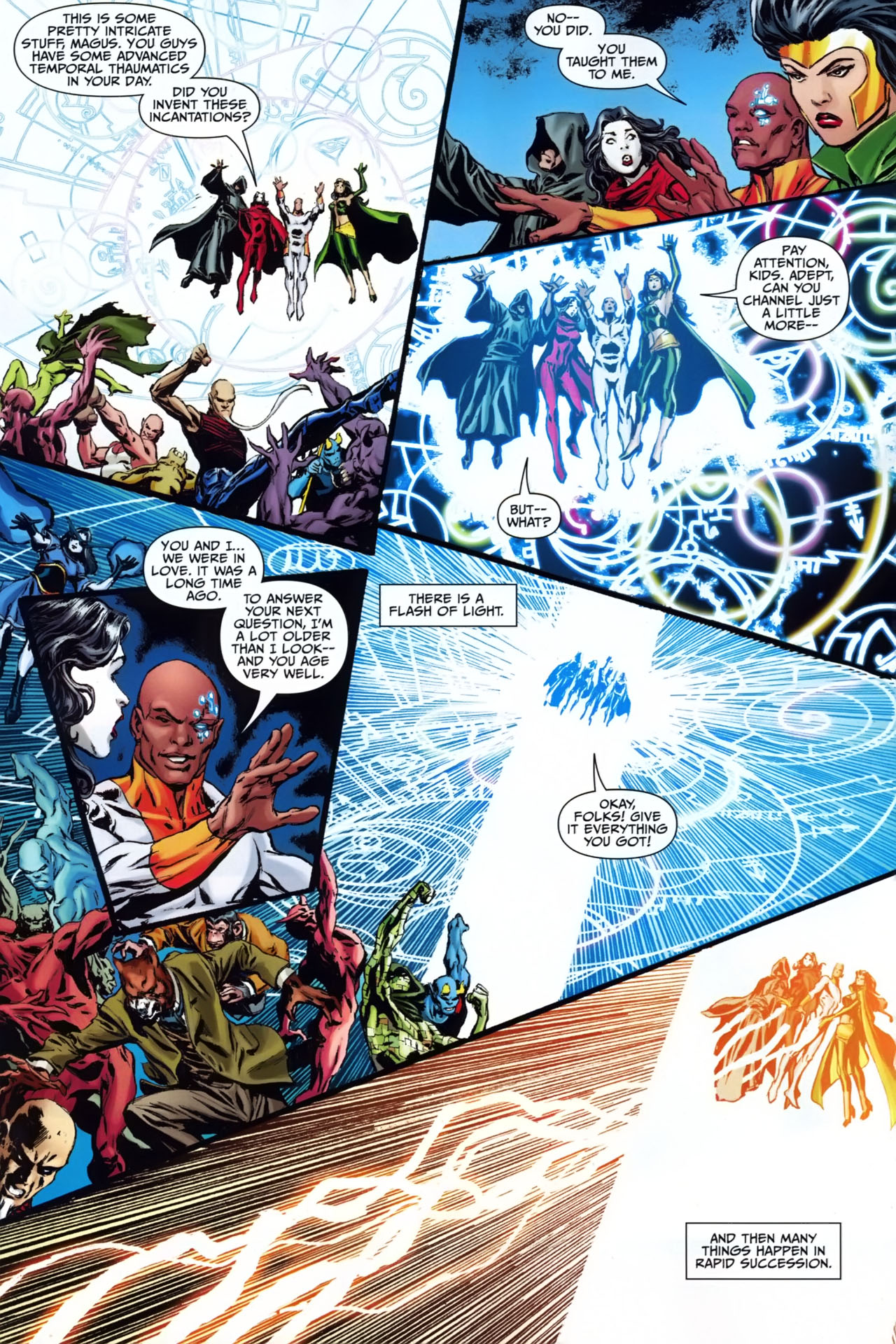 Read online Shadowpact comic -  Issue #25 - 13
