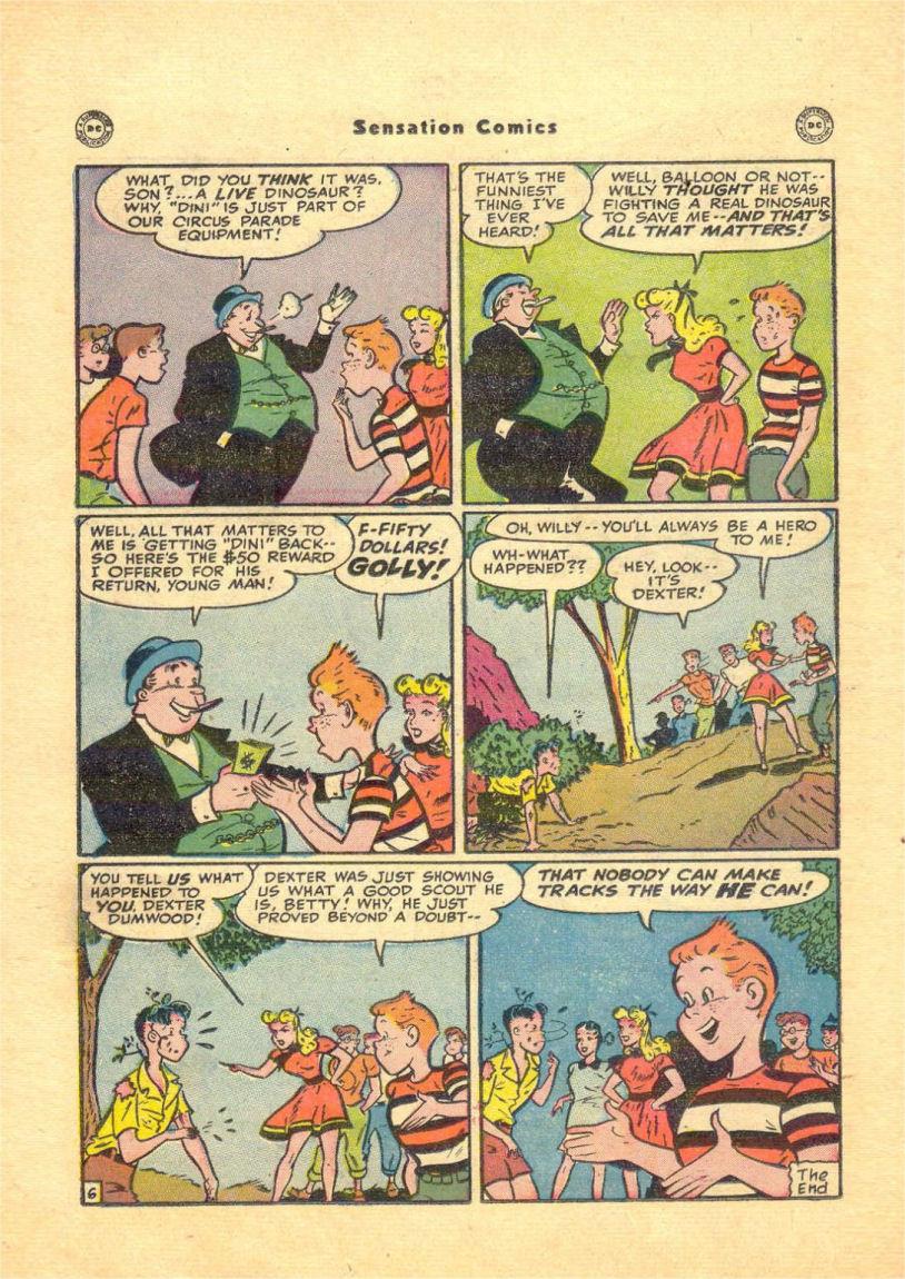 Read online Sensation (Mystery) Comics comic -  Issue #84 - 38
