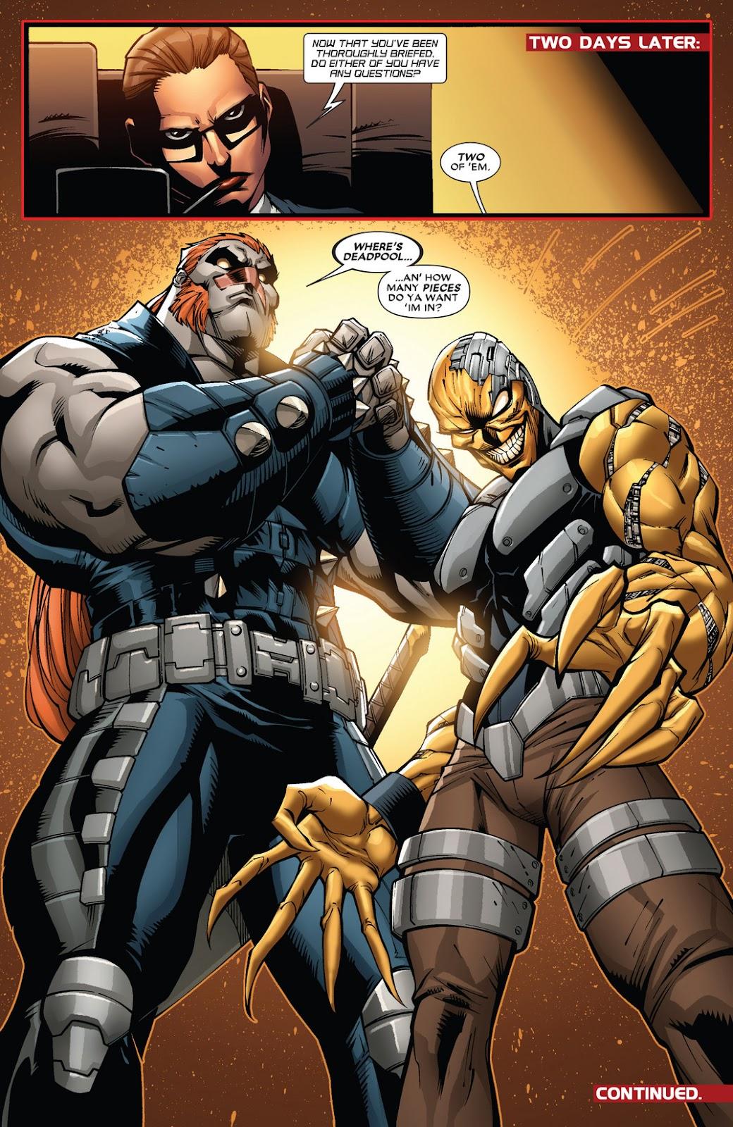 Read online Deadpool (2008) comic -  Issue #61 - 21