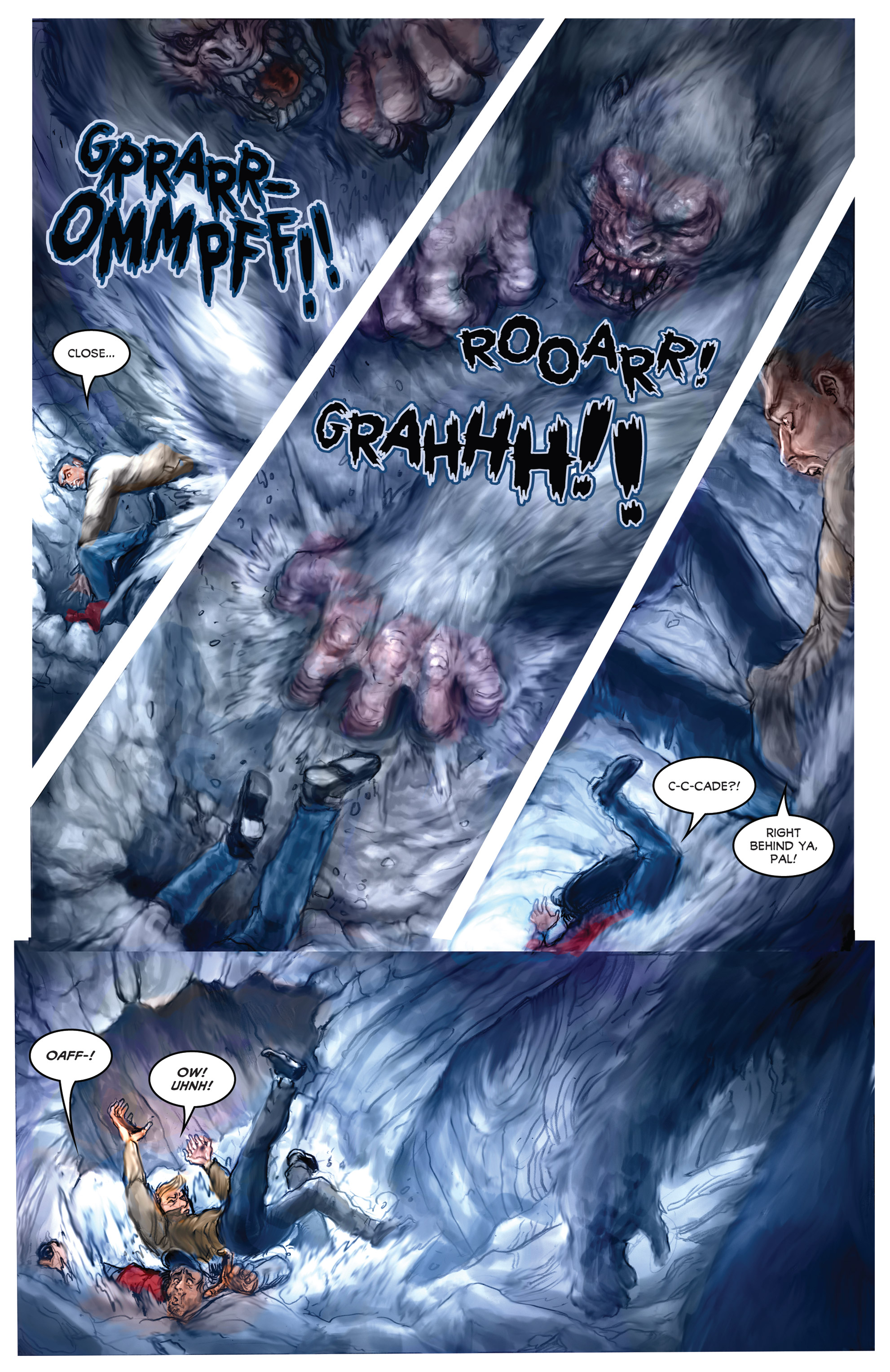 Read online American Mythology Dark: Werewolves vs Dinosaurs comic -  Issue #2 - 5