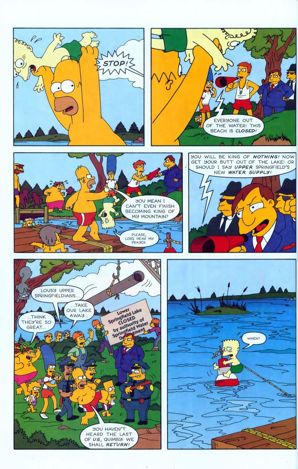 Read online Simpsons Comics comic -  Issue #50 - 5