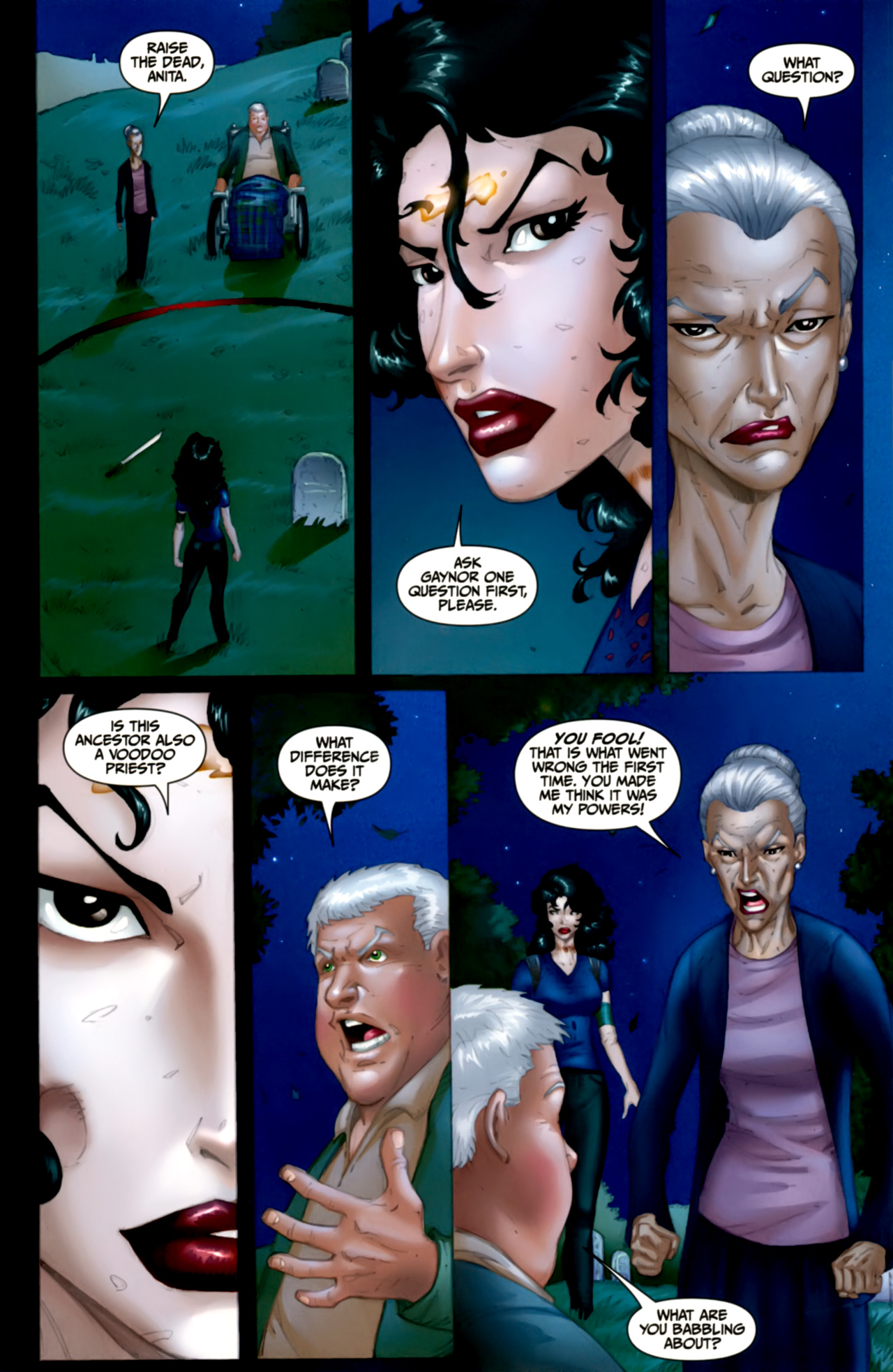 Read online Anita Blake: The Laughing Corpse - Executioner comic -  Issue #4 - 27
