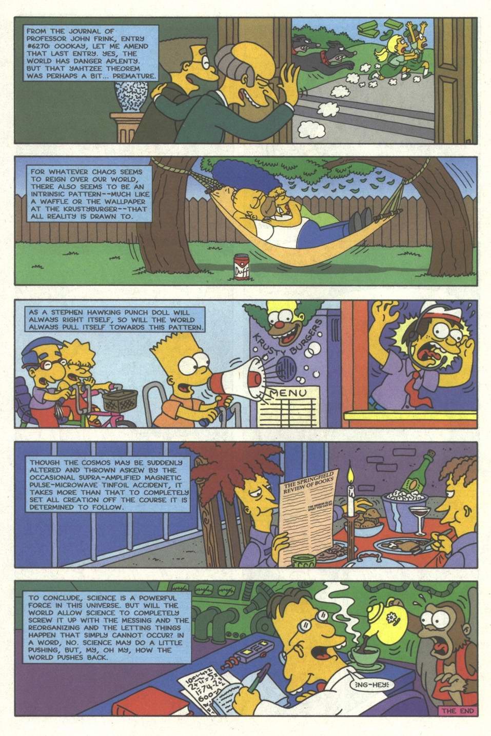 Read online Simpsons Comics comic -  Issue #33 - 23
