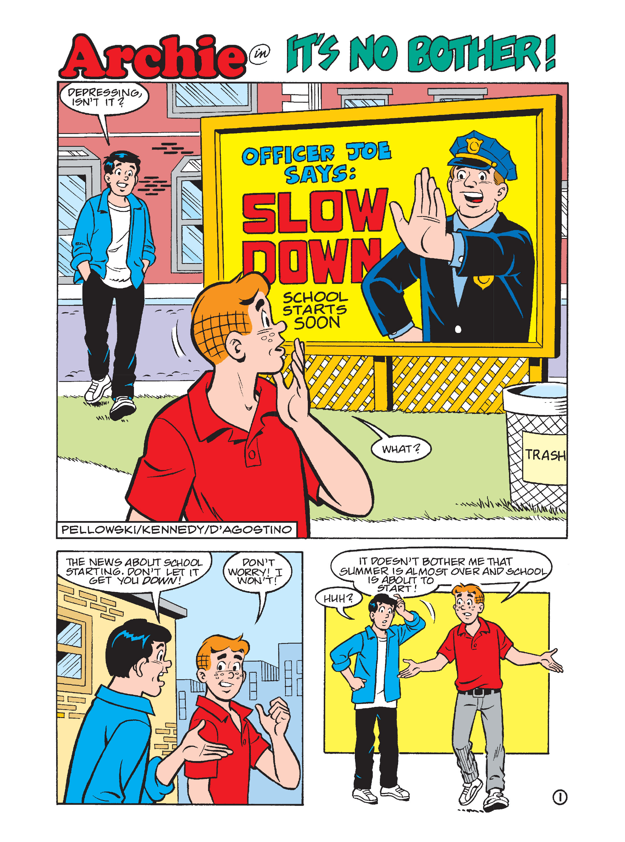 Read online Archie's Funhouse Double Digest comic -  Issue #7 - 149