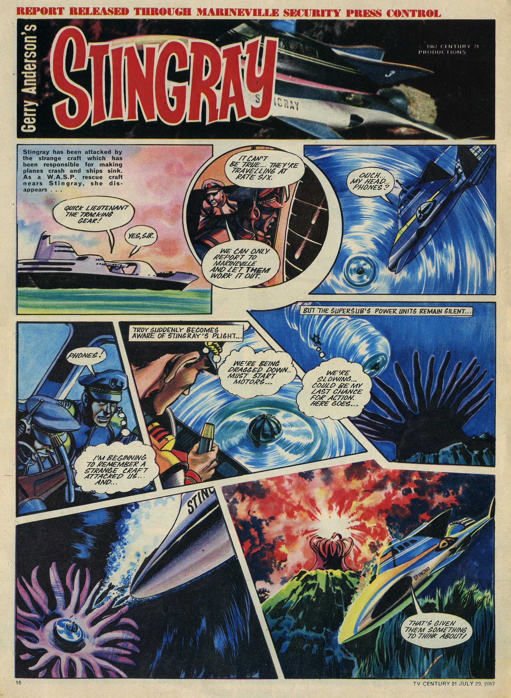Read online TV Century 21 (TV 21) comic -  Issue #132 - 15
