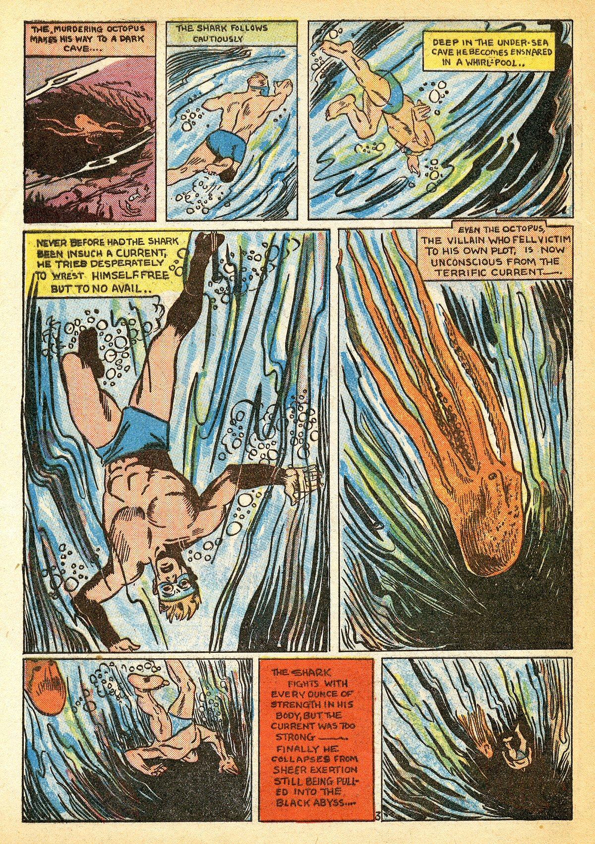 Read online Amazing Man Comics comic -  Issue #10 - 61