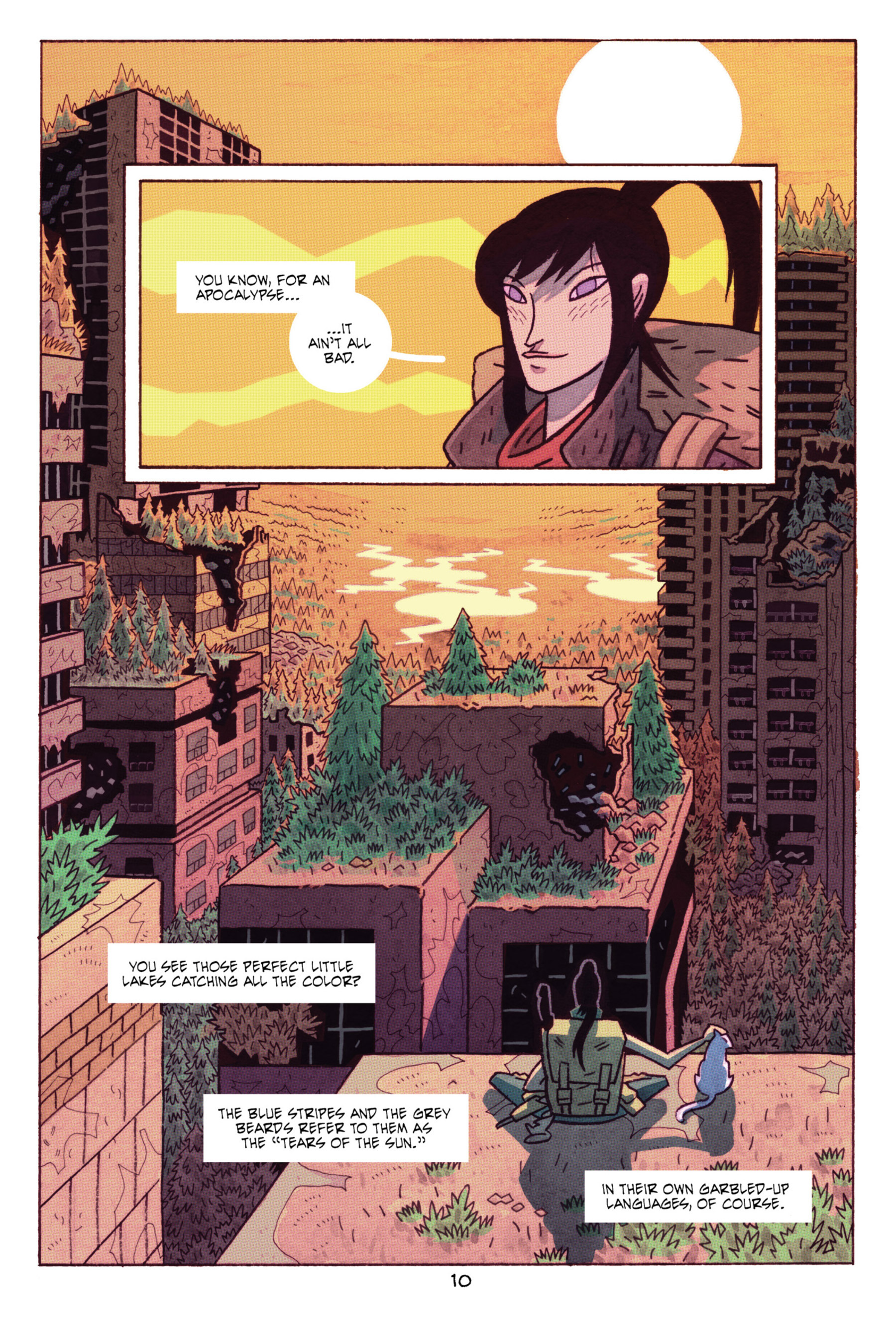 Read online ApocalyptiGirl: An Aria for the End Times comic -  Issue #ApocalyptiGirl: An Aria for the End Times Full - 18