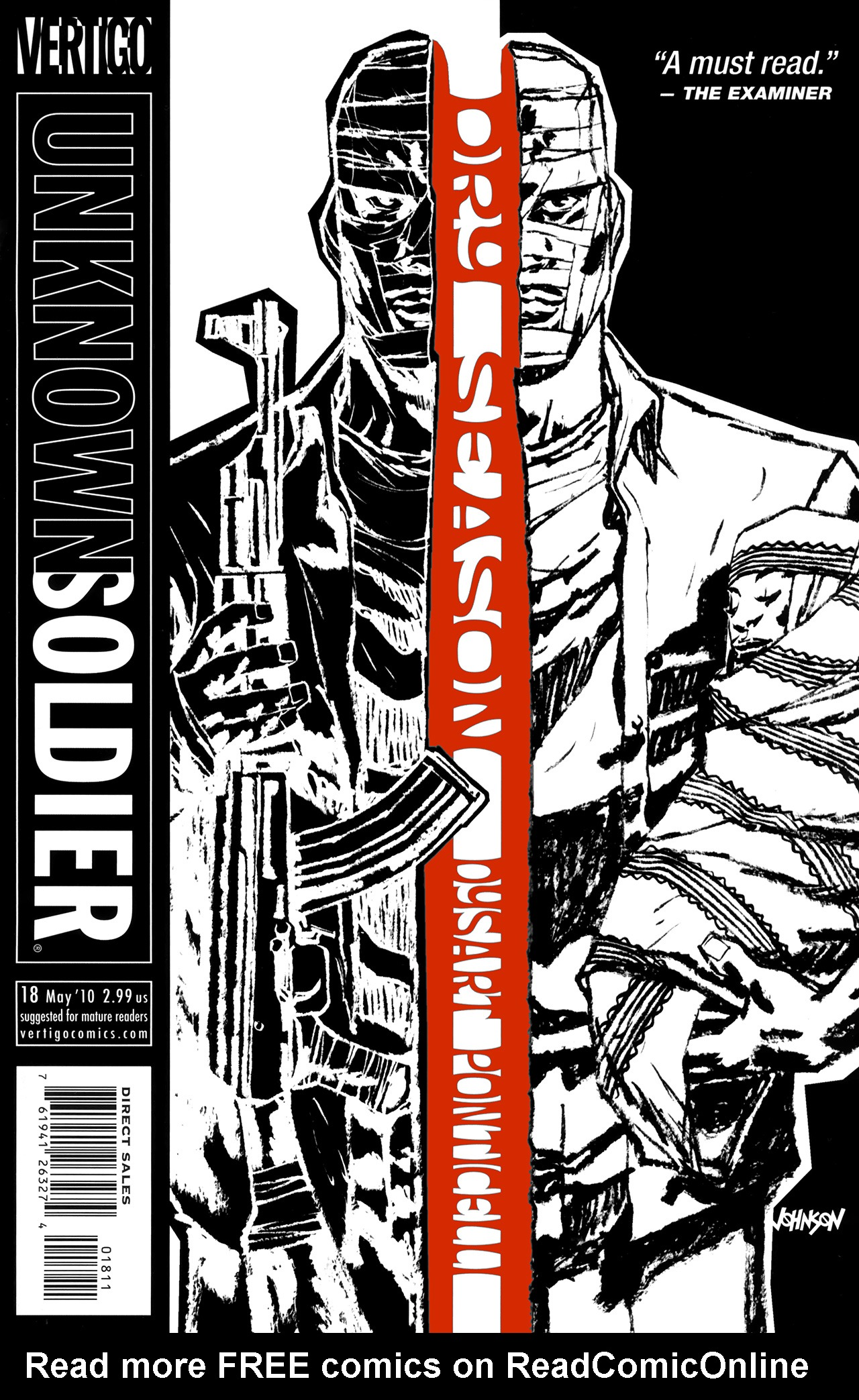 Unknown Soldier (2008) issue 18 - Page 1