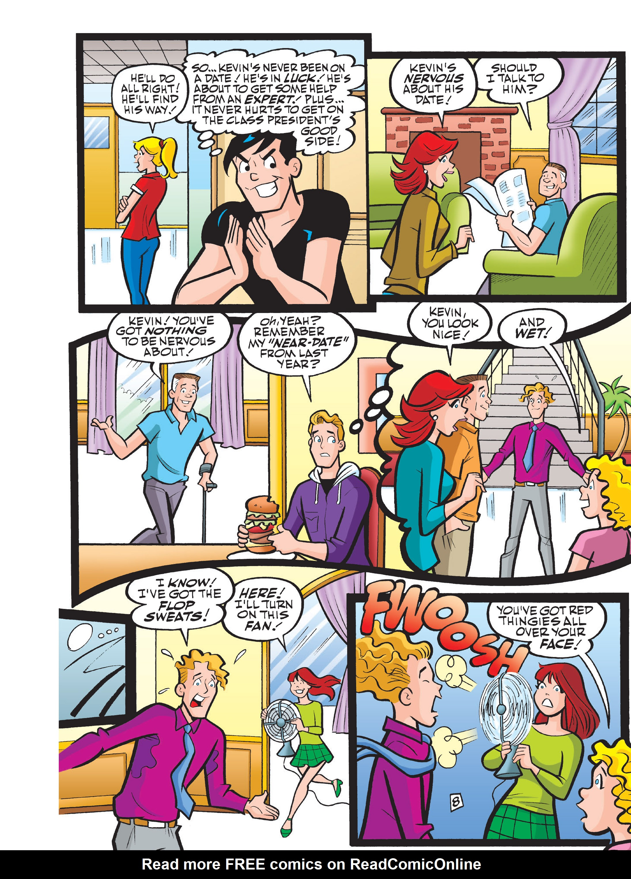 Read online Archie 75th Anniversary Digest comic -  Issue #1 - 154